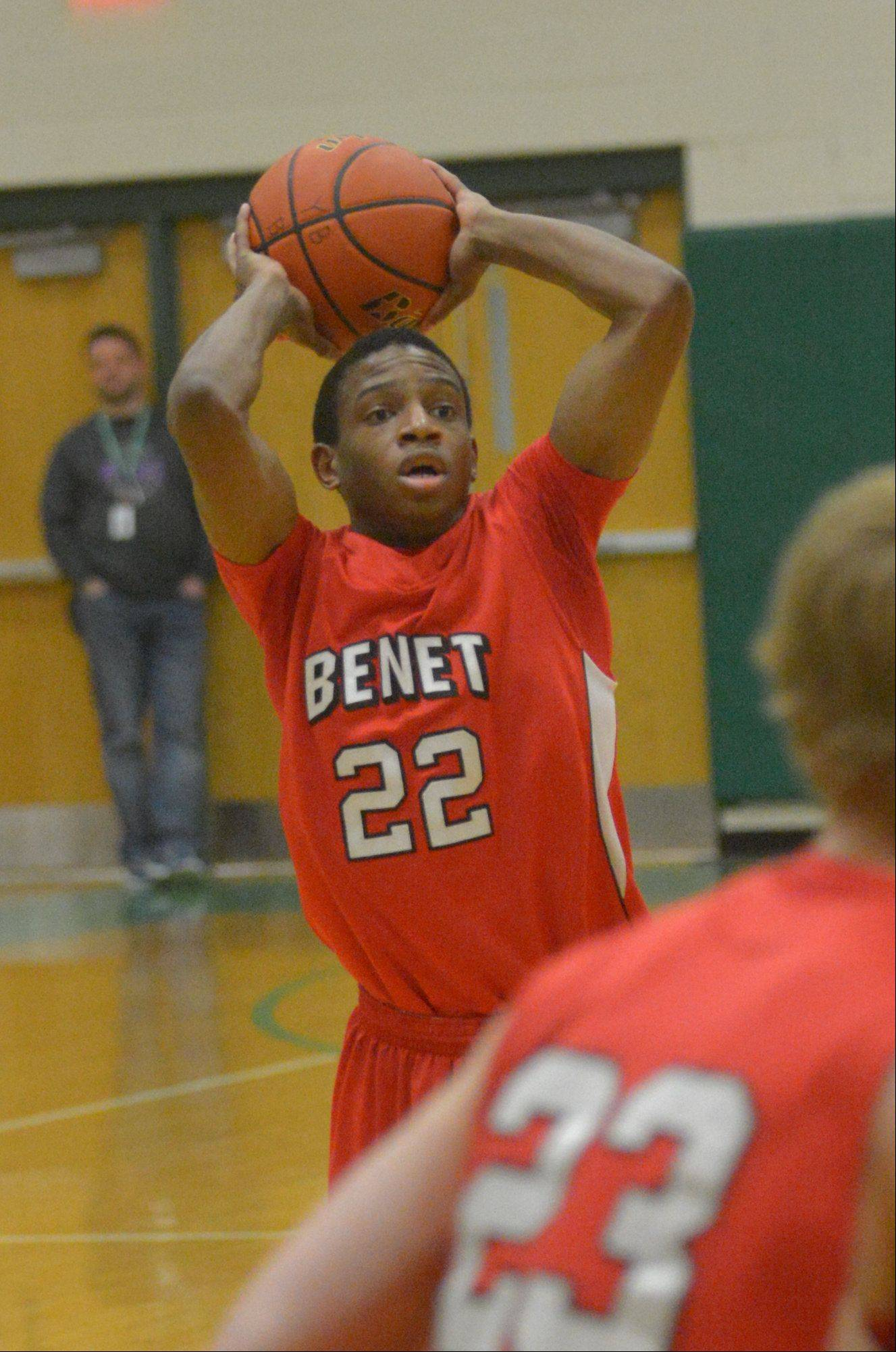 Photos from the Benet Academy at York boys basketball game Friday, Jan. 10.