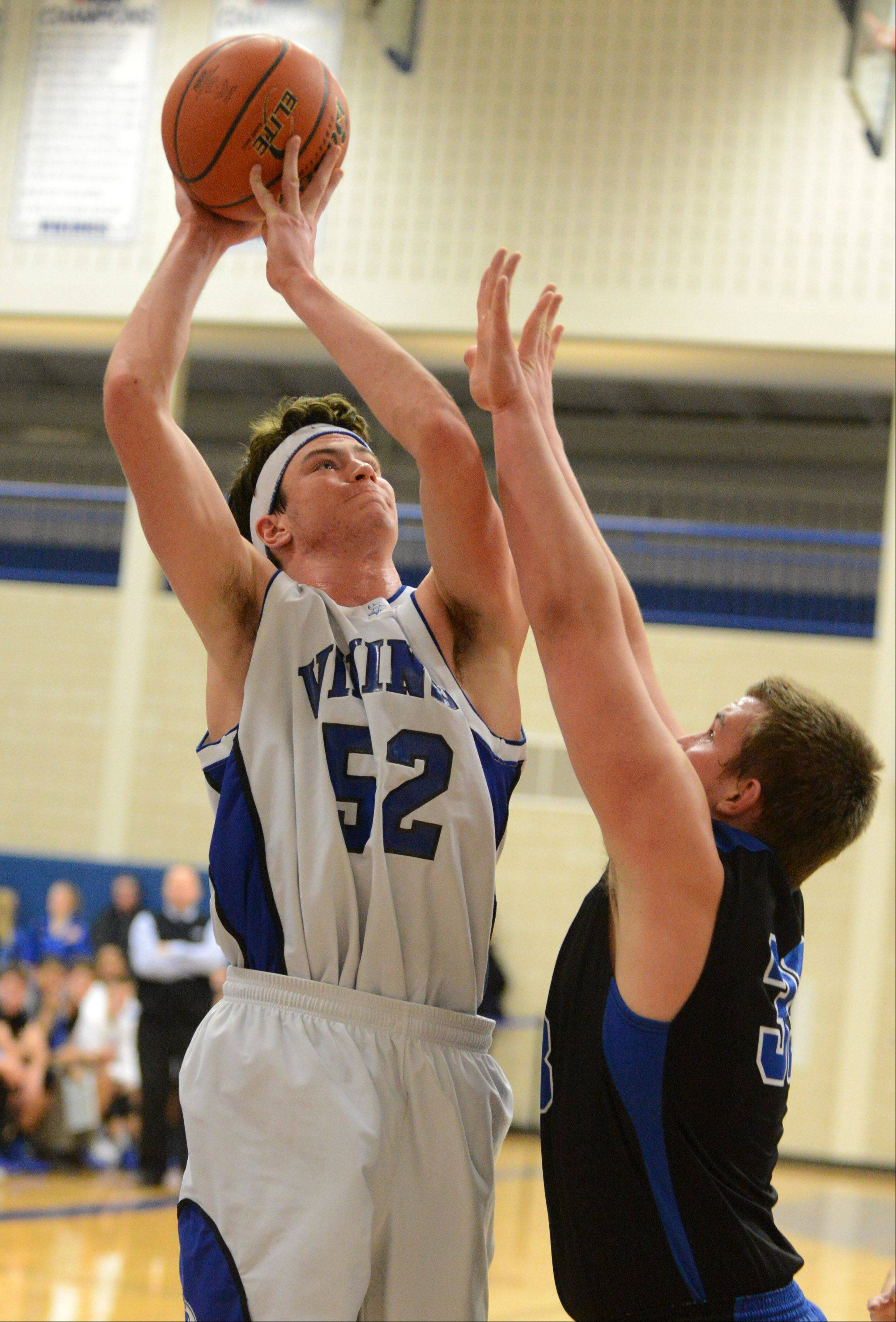 Images from the St. Charles North vs. Geneva boys basketball game Friday, January 10, 2014.