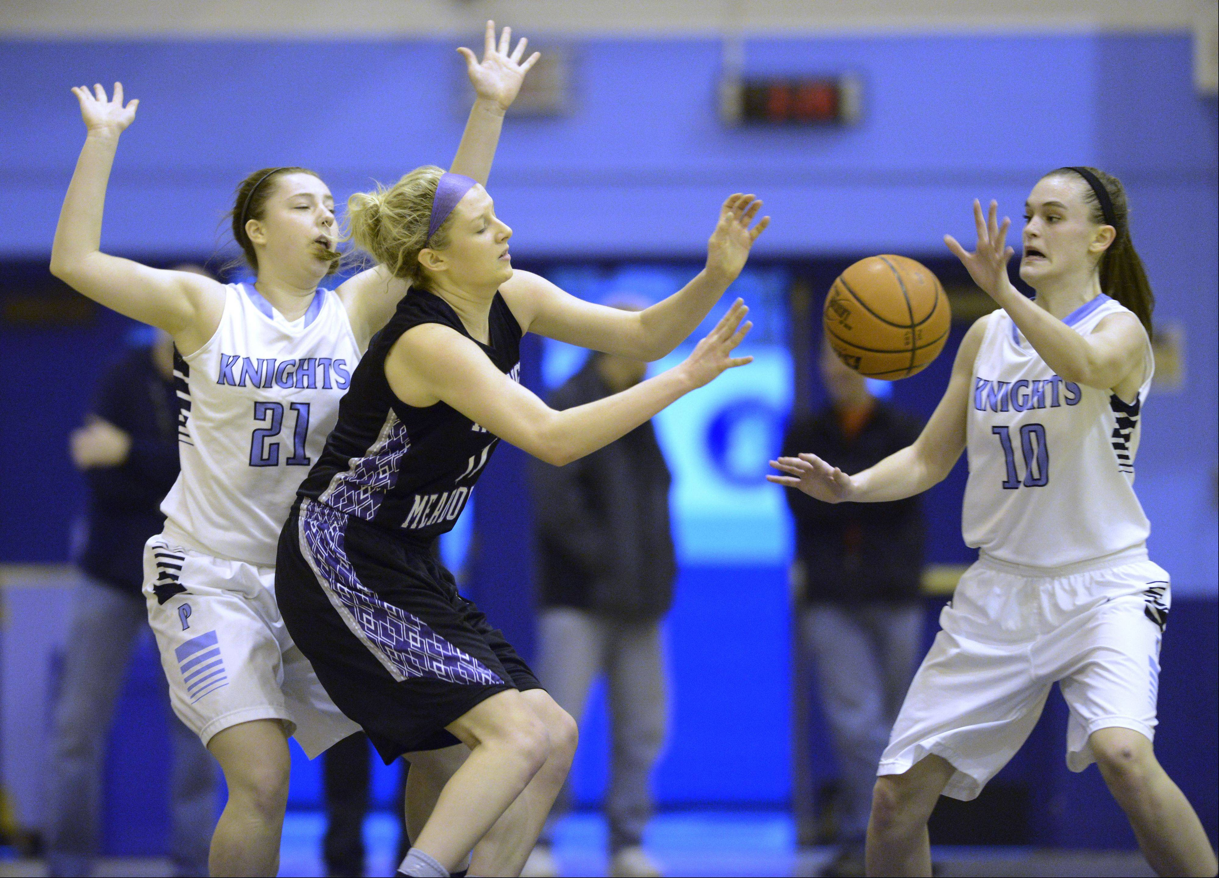 Images: Rolling Meadows vs. Prospect, girls basketball