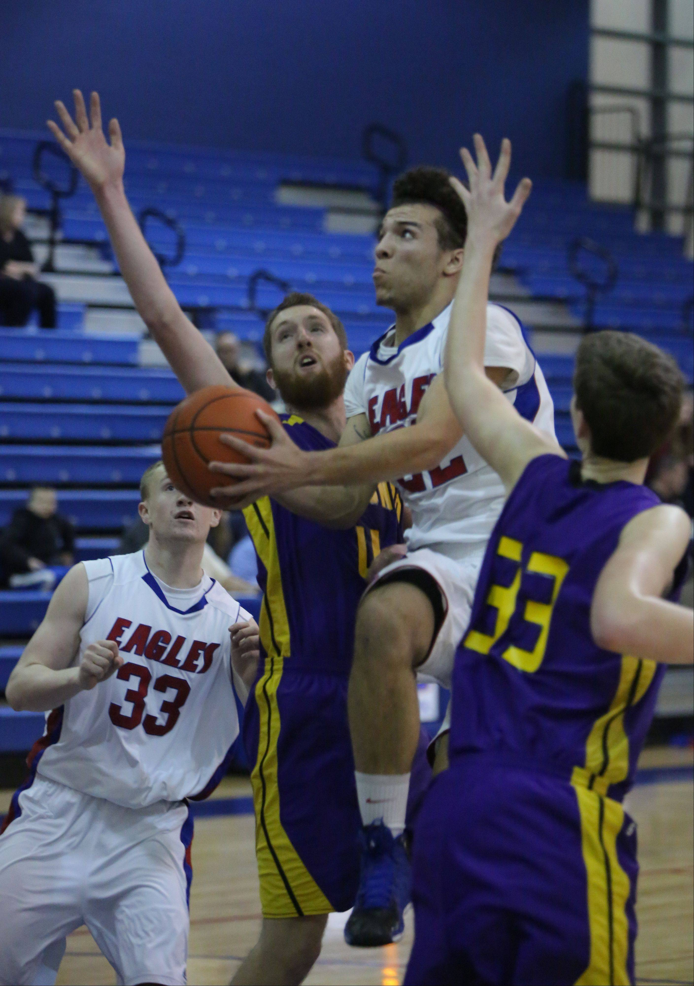 Images from the Wauconda at Lakes boys basketball game on Tuesday, January 14 in Lake Villa.
