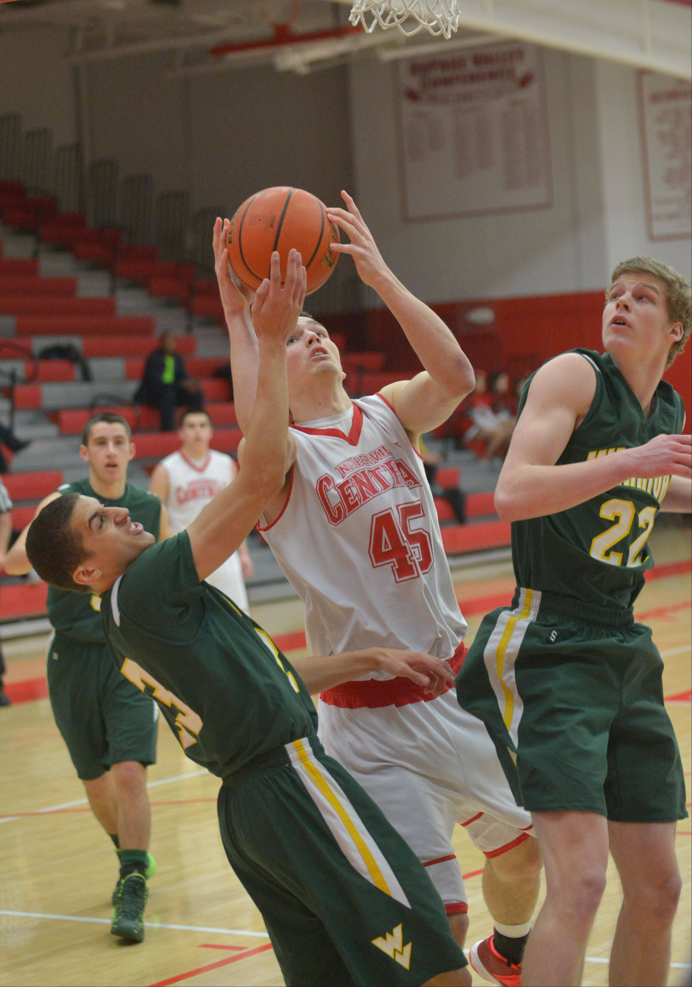 Photos from the Waubonsie Valley at Naperville Central boys basketball game Tuesday, Jan. 14 in Naperville.