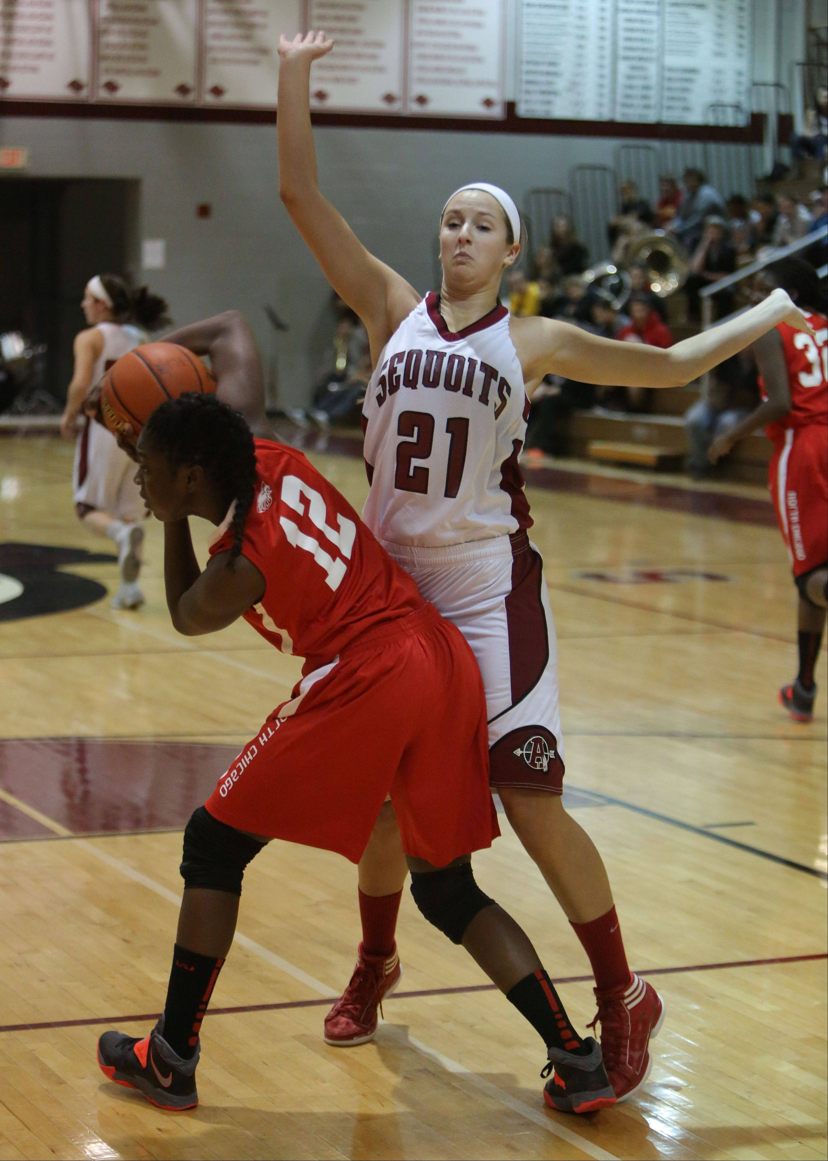 Images from the North Chicago at Antioch girls basketball game on Wednesday, January 15.