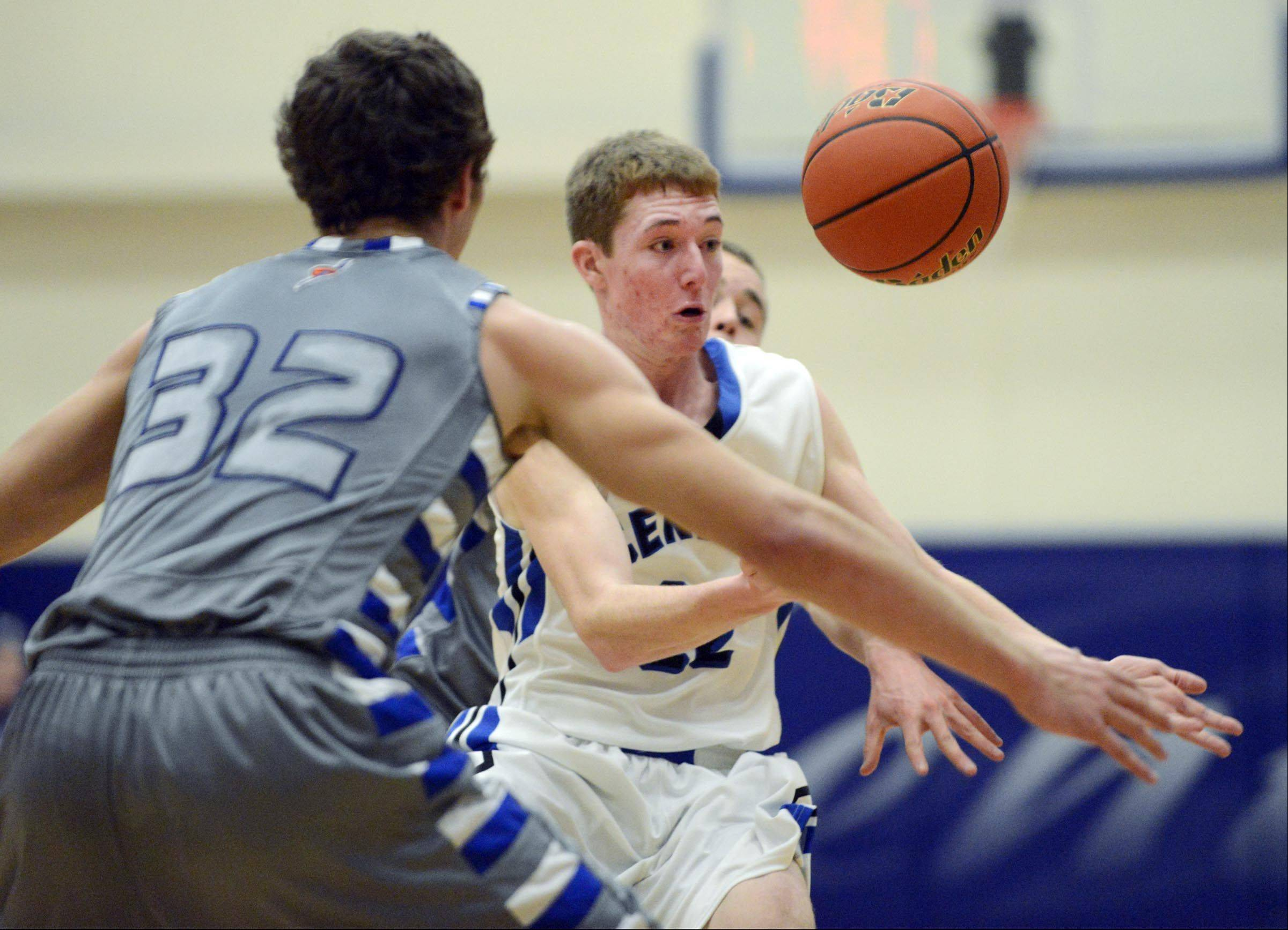 Images from the Woodstock vs. Burlington Central boys basketball game Wednesday, January 15, 2014.