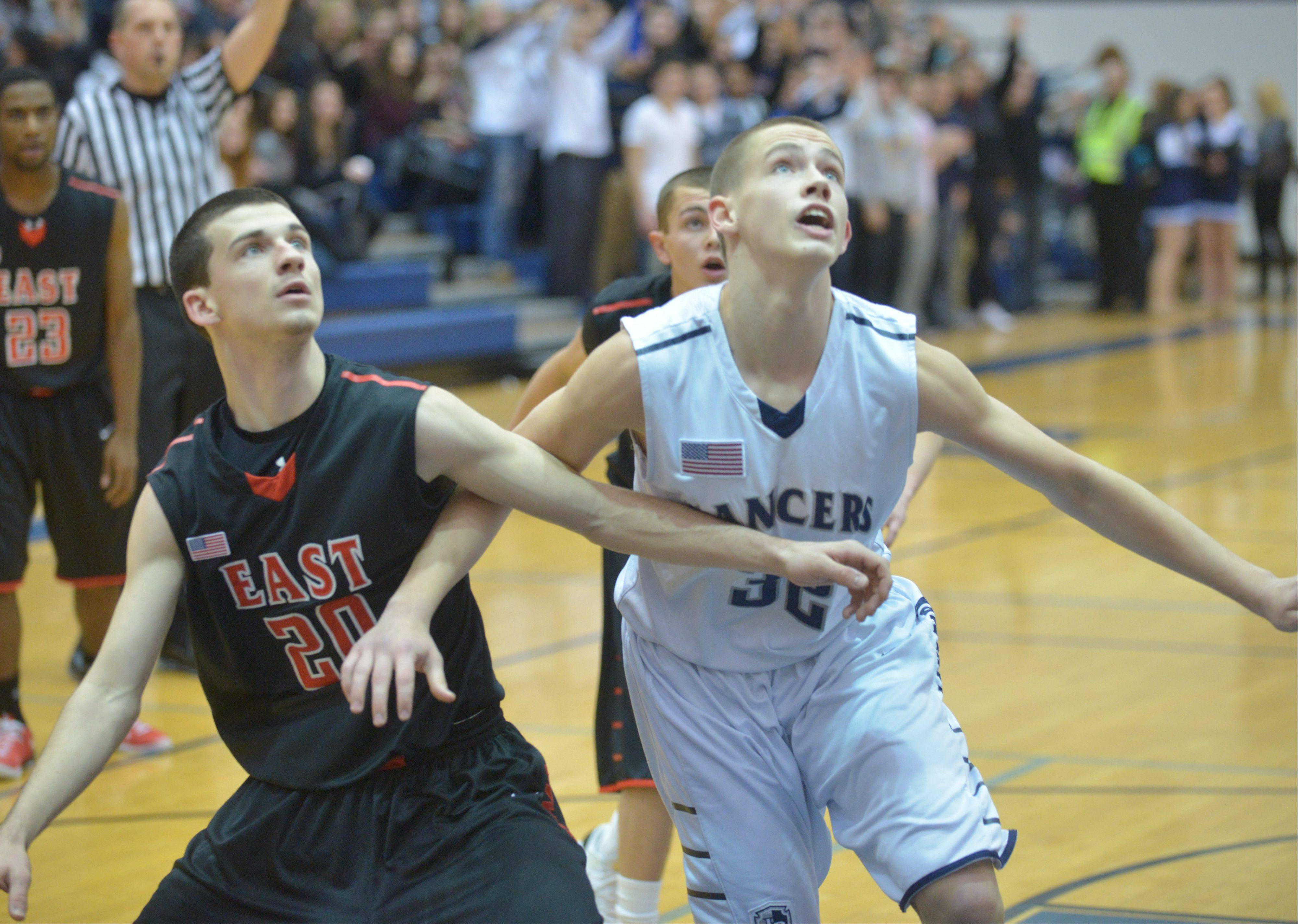 Images: Glenbard East at Lake Park boys basketball