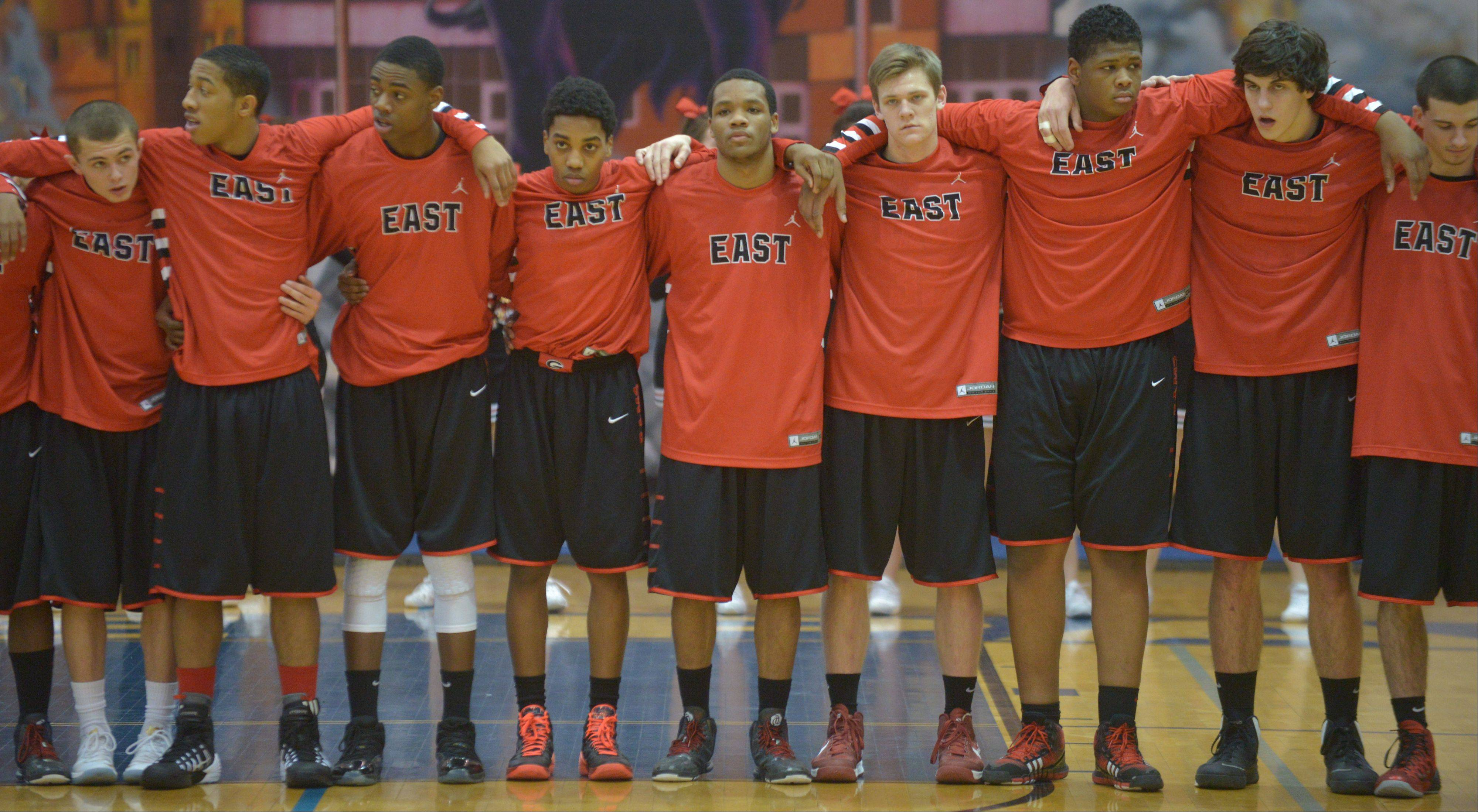 Photos from the Glenbard East at Lake Park boys basketball game Friday, Jan. 17 in Roselle.