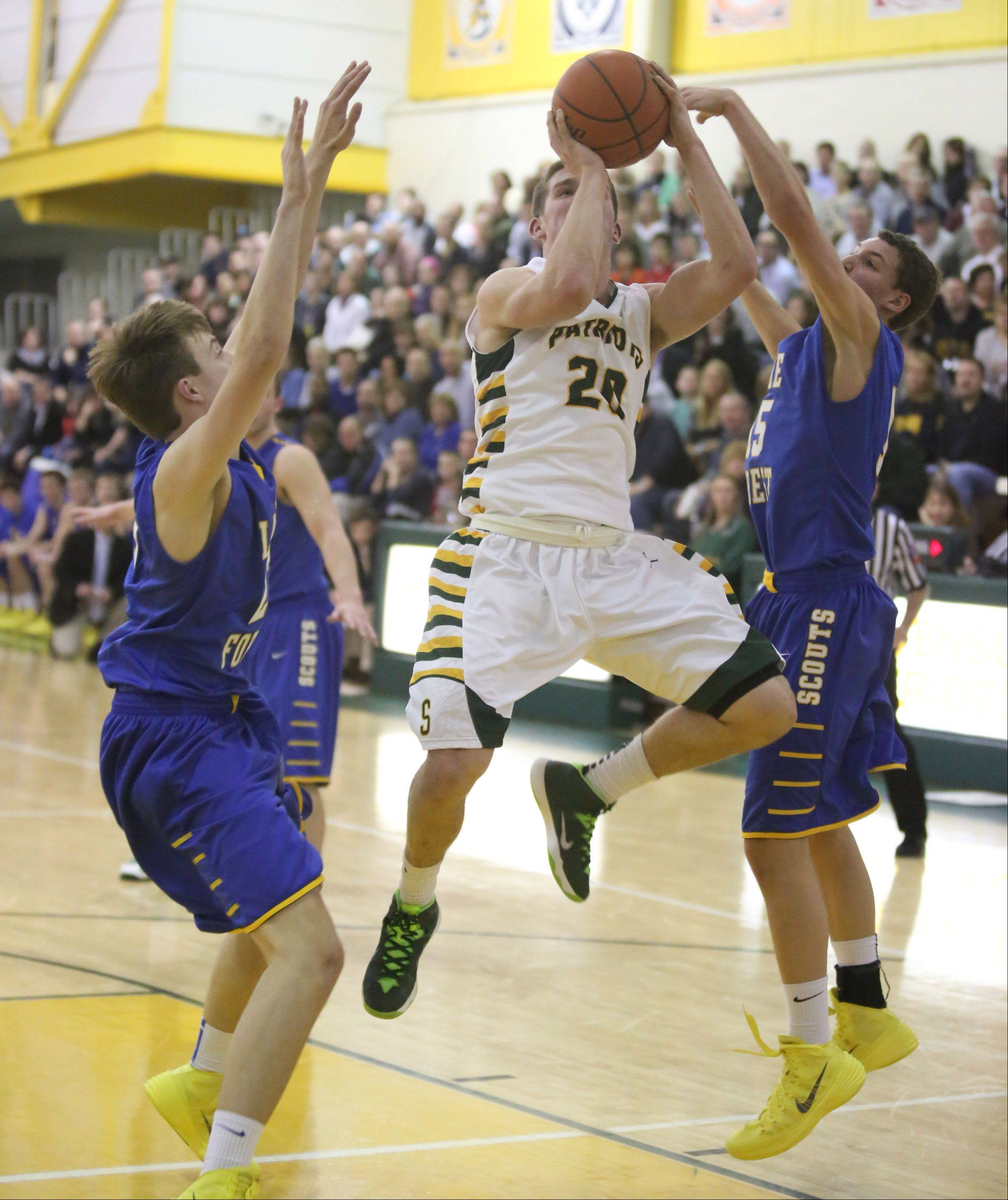 Images from the Lake Forest at Stevenson boys basketball game on Friday, January 17 in Lincolnshire.