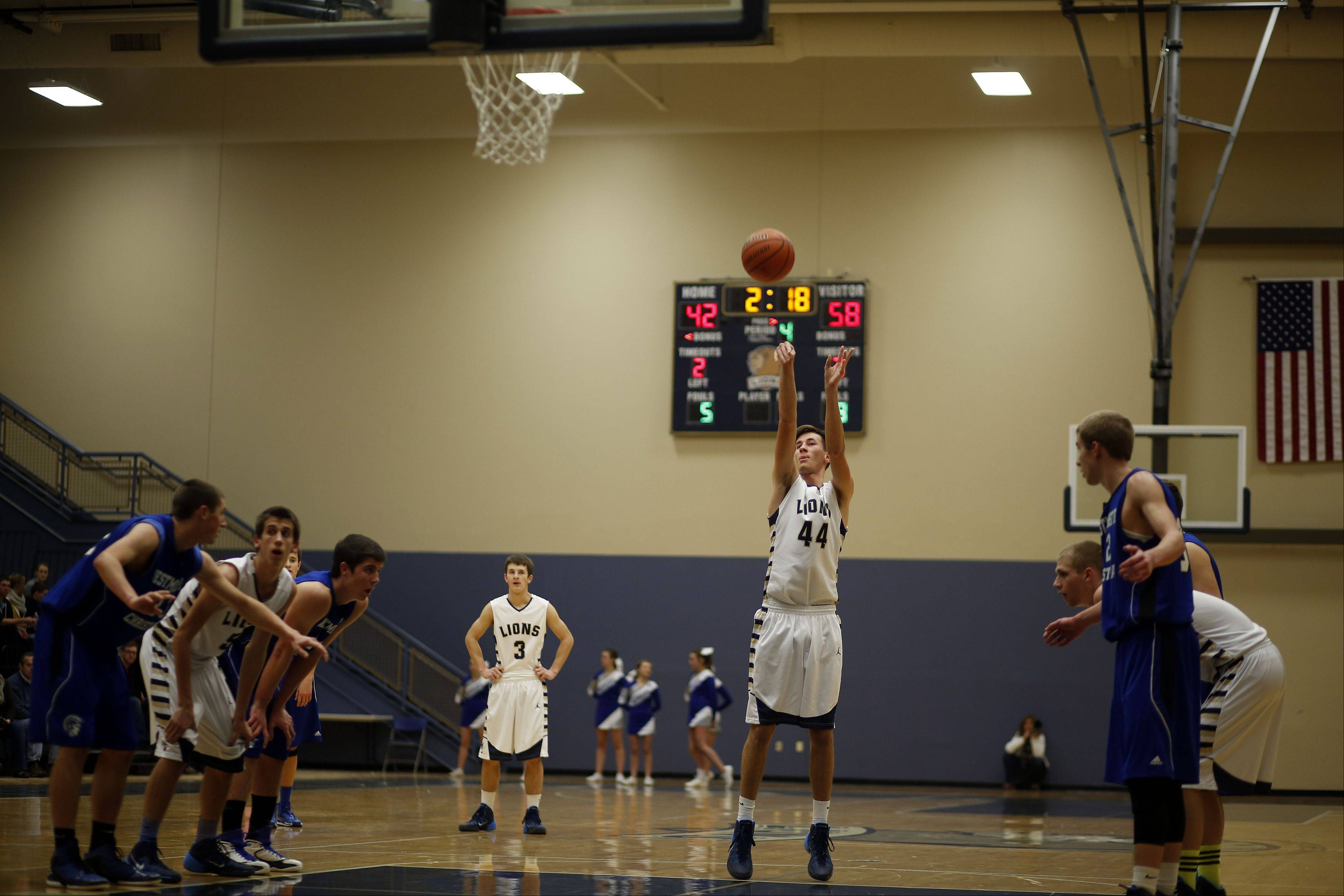 Images from the Westminster Christian vs. Harvest Christian boys basketball game Friday, January 17, 2014.