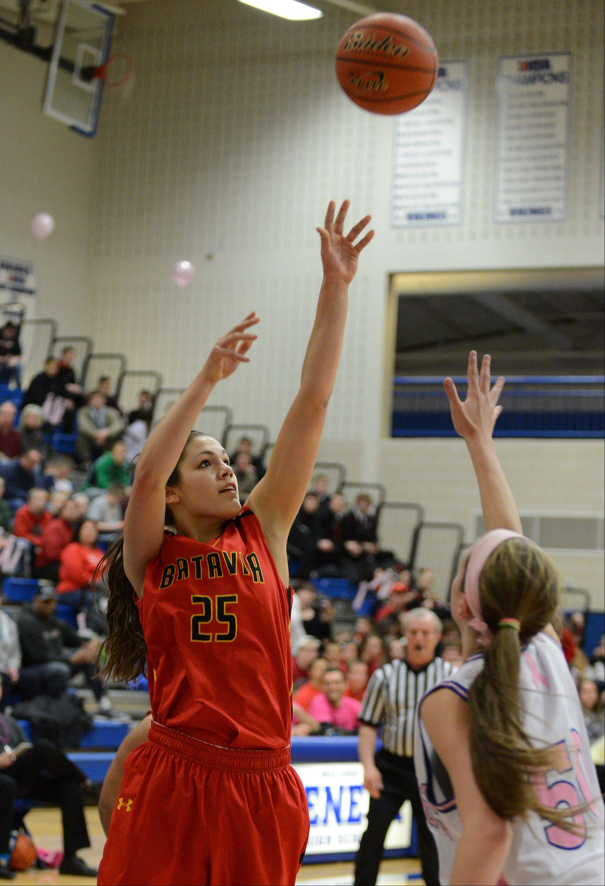 Images from the Batavia vs. Geneva girls basketball game Friday, January 17, 2014.