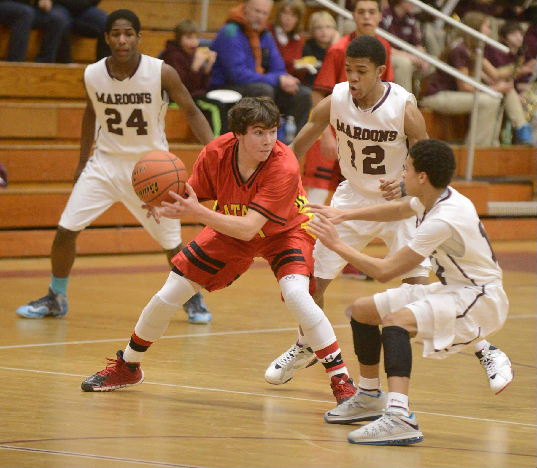 Images: Elgin vs. Batavia boys basketball