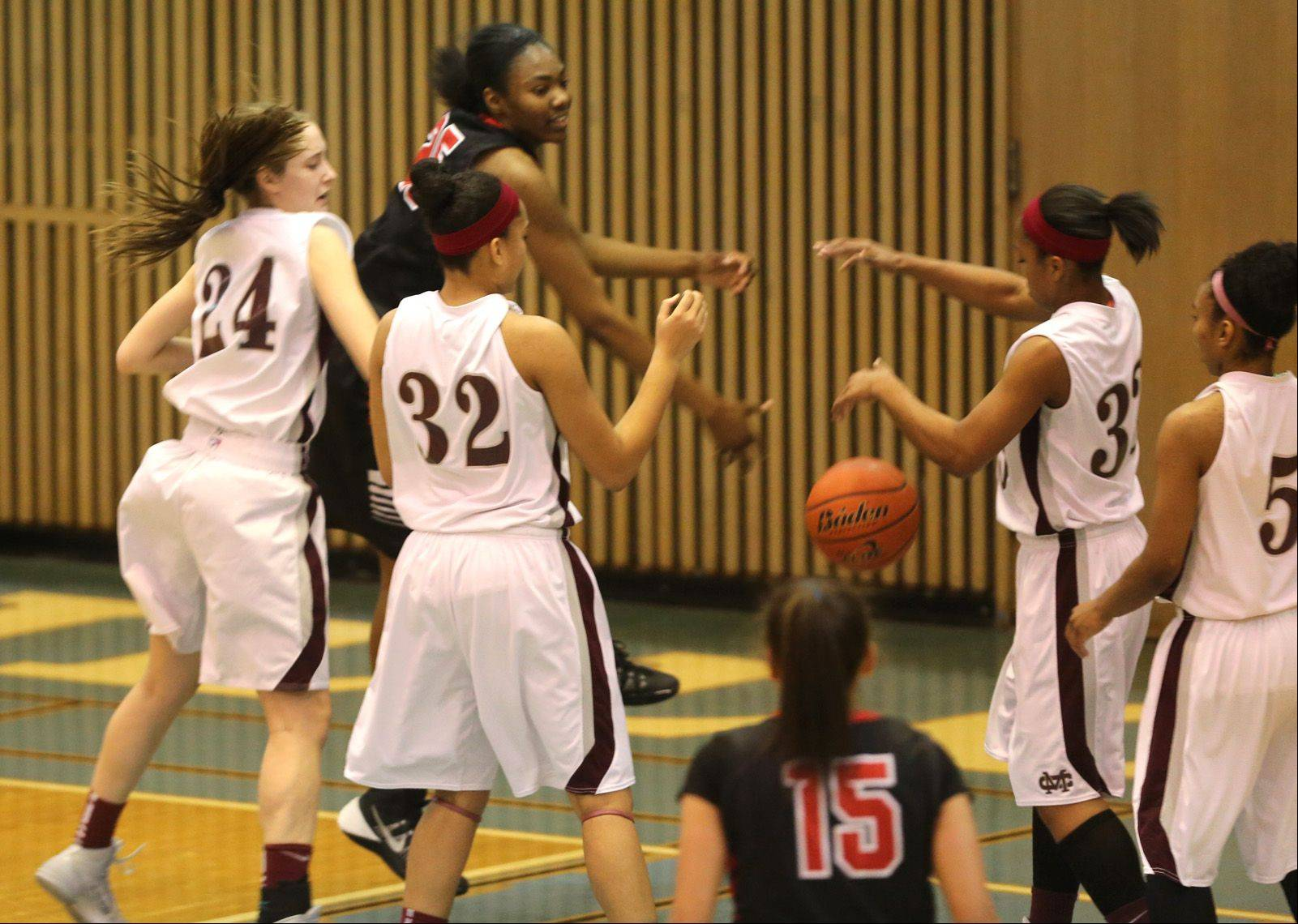 Montini plays Bollingbrook Monday, Jan. 20 at Willowbrook High School in Villa Park for girls basketball.