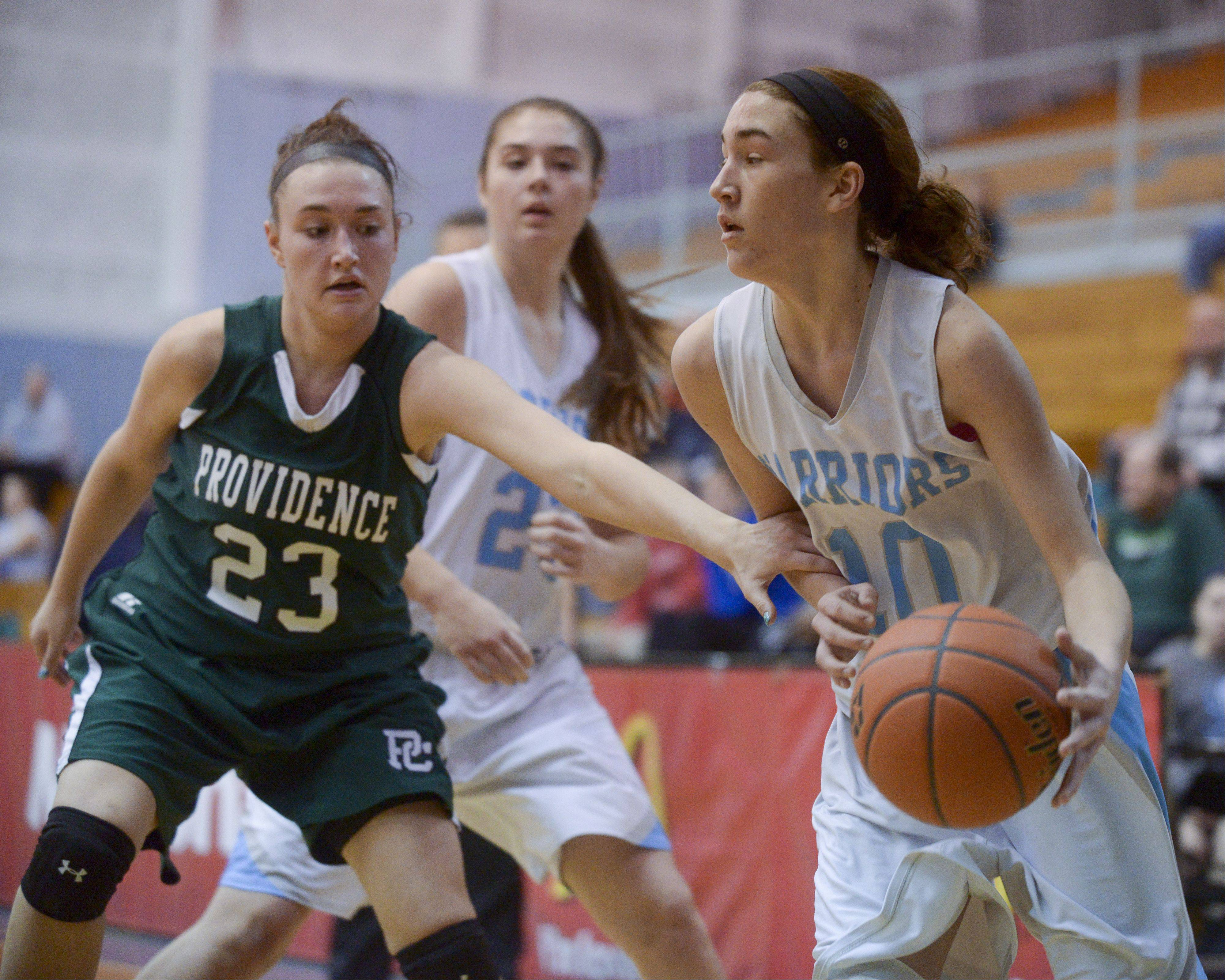 Photos from the Providence vs. Willowbrook girls basketball game on Monday, Jan. 20.