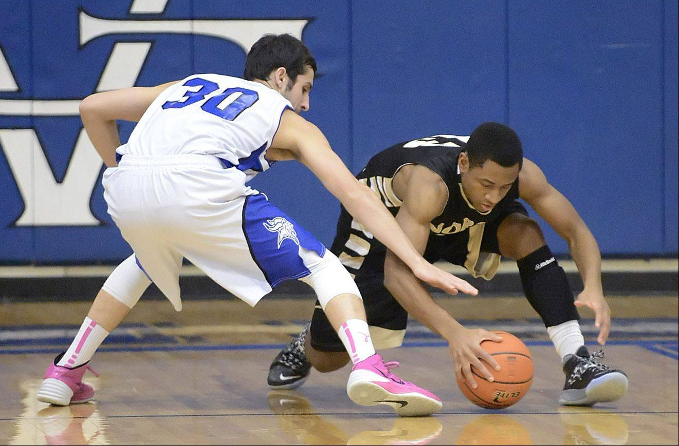 Images: Glenbard North vs. Geneva boys basketball
