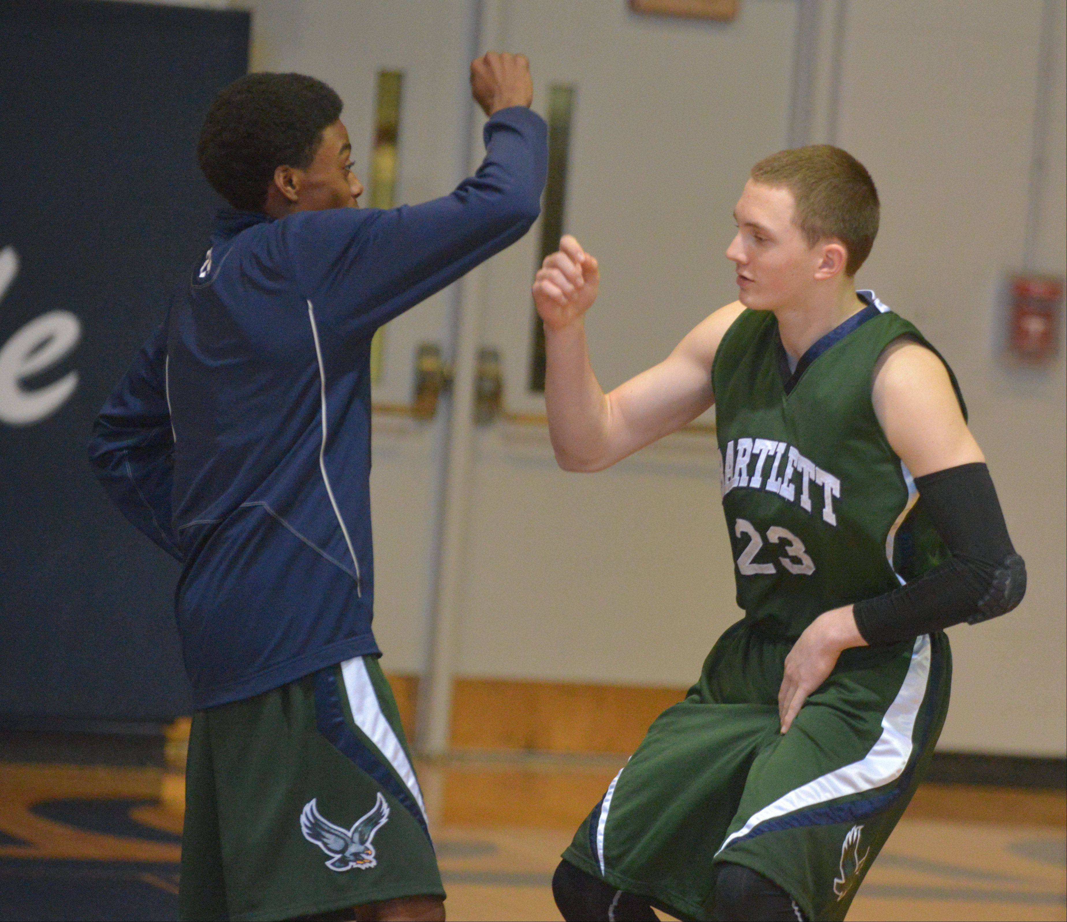 Images: Bartlett vs. West Chicago boys basketball