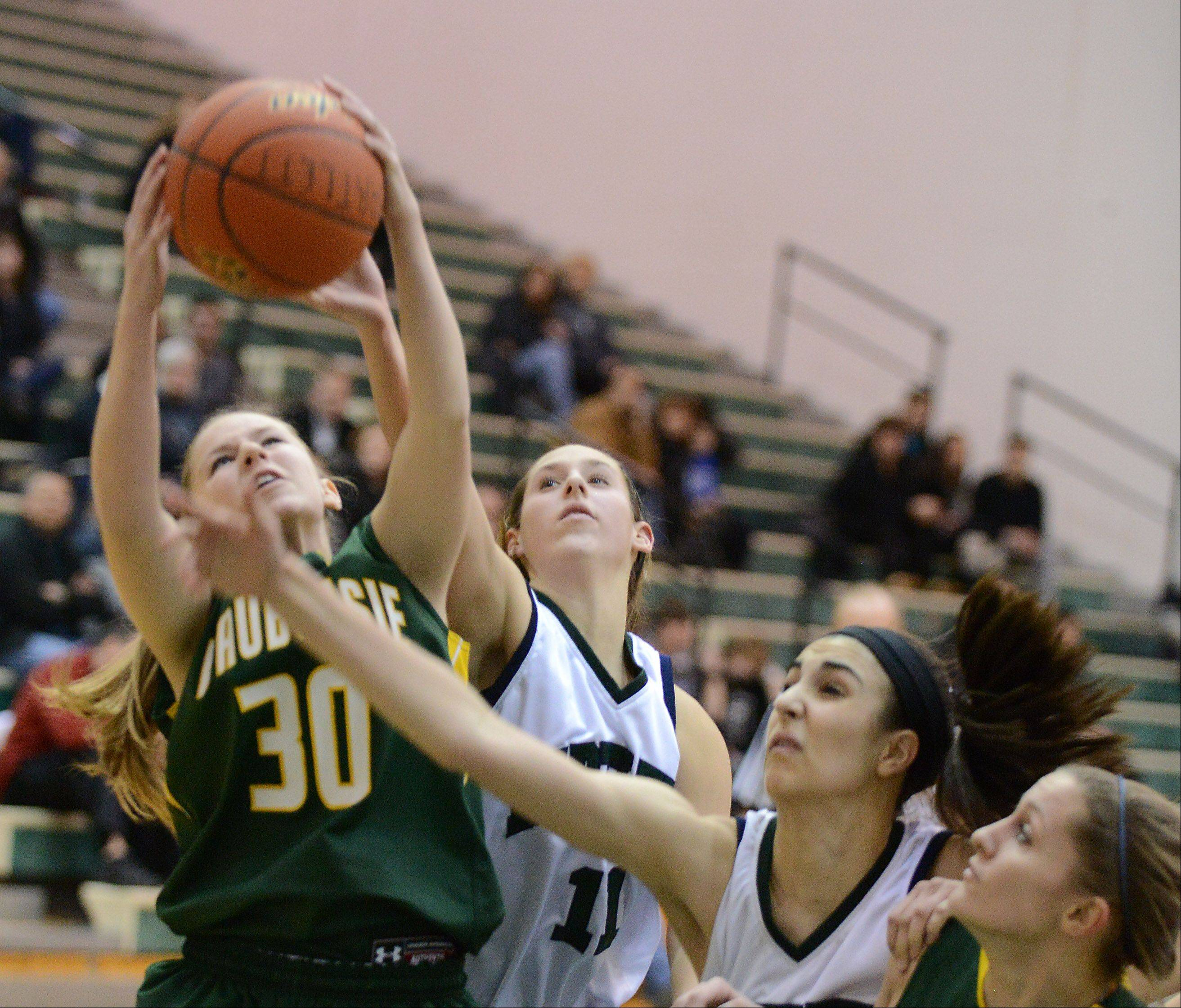 Images from the Waubonsie Valley vs. Bartlett girls basketball game Thursday, January 23, 2014.
