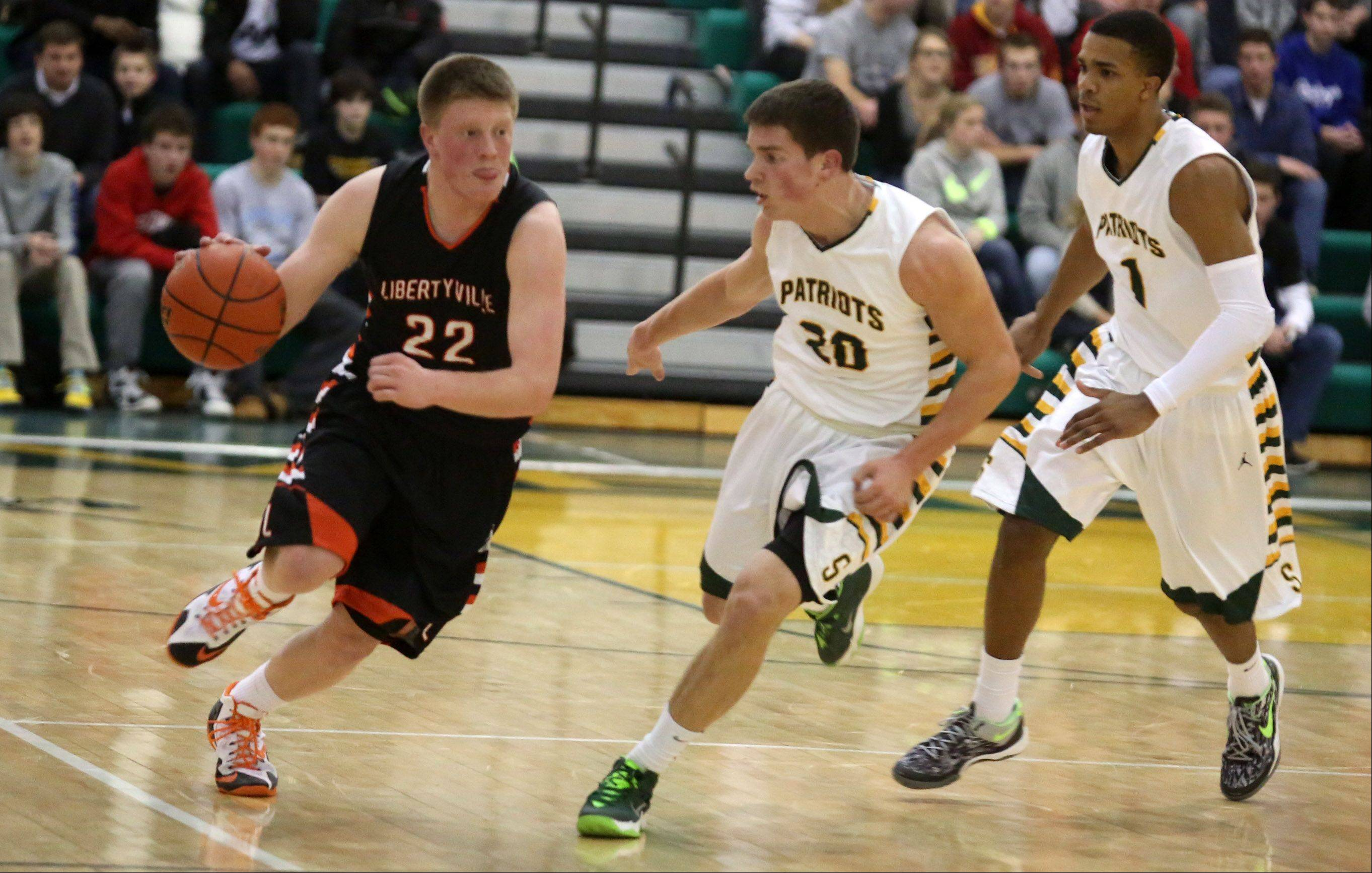 Images: Stevenson vs. Libertyville boys basketball