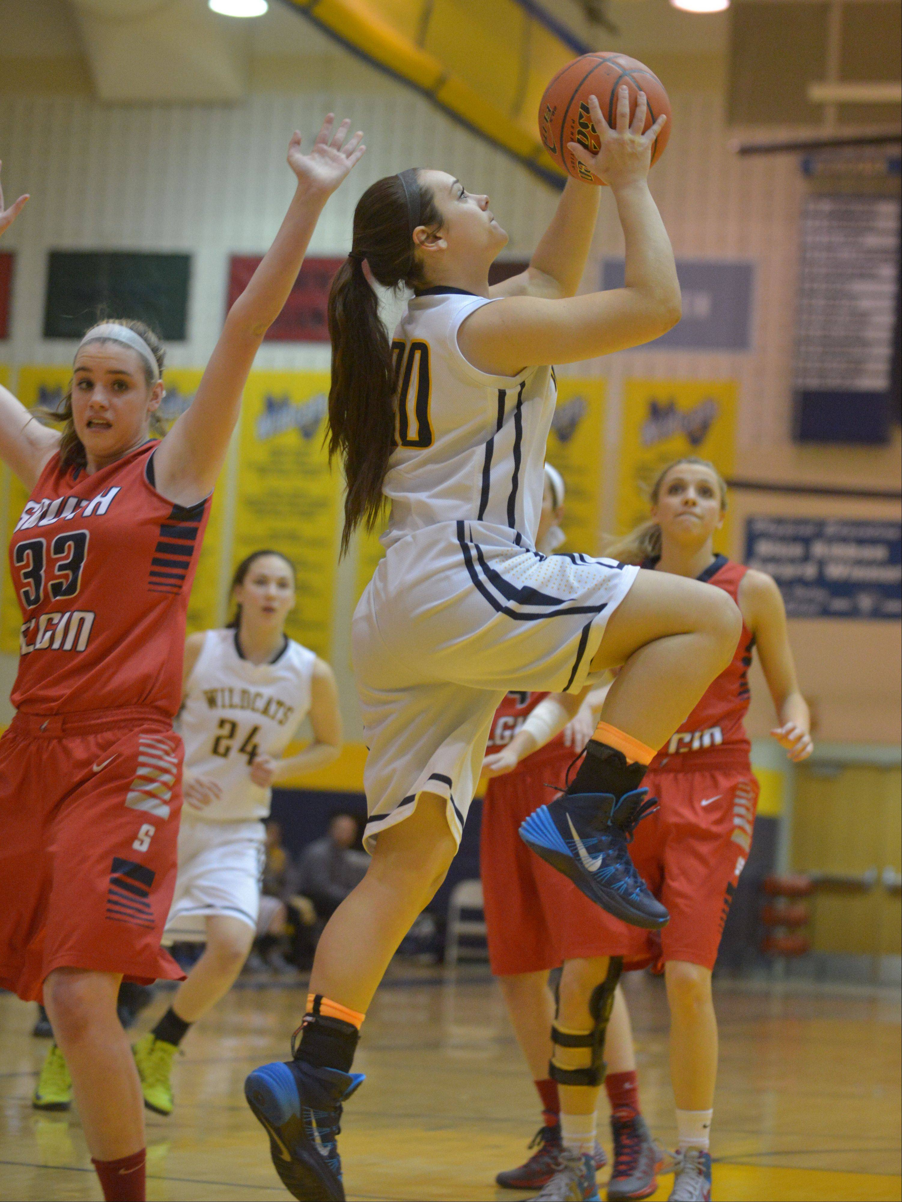 Photos from the South Elgin at Neuqua Valley girls basketball game in Naperville.