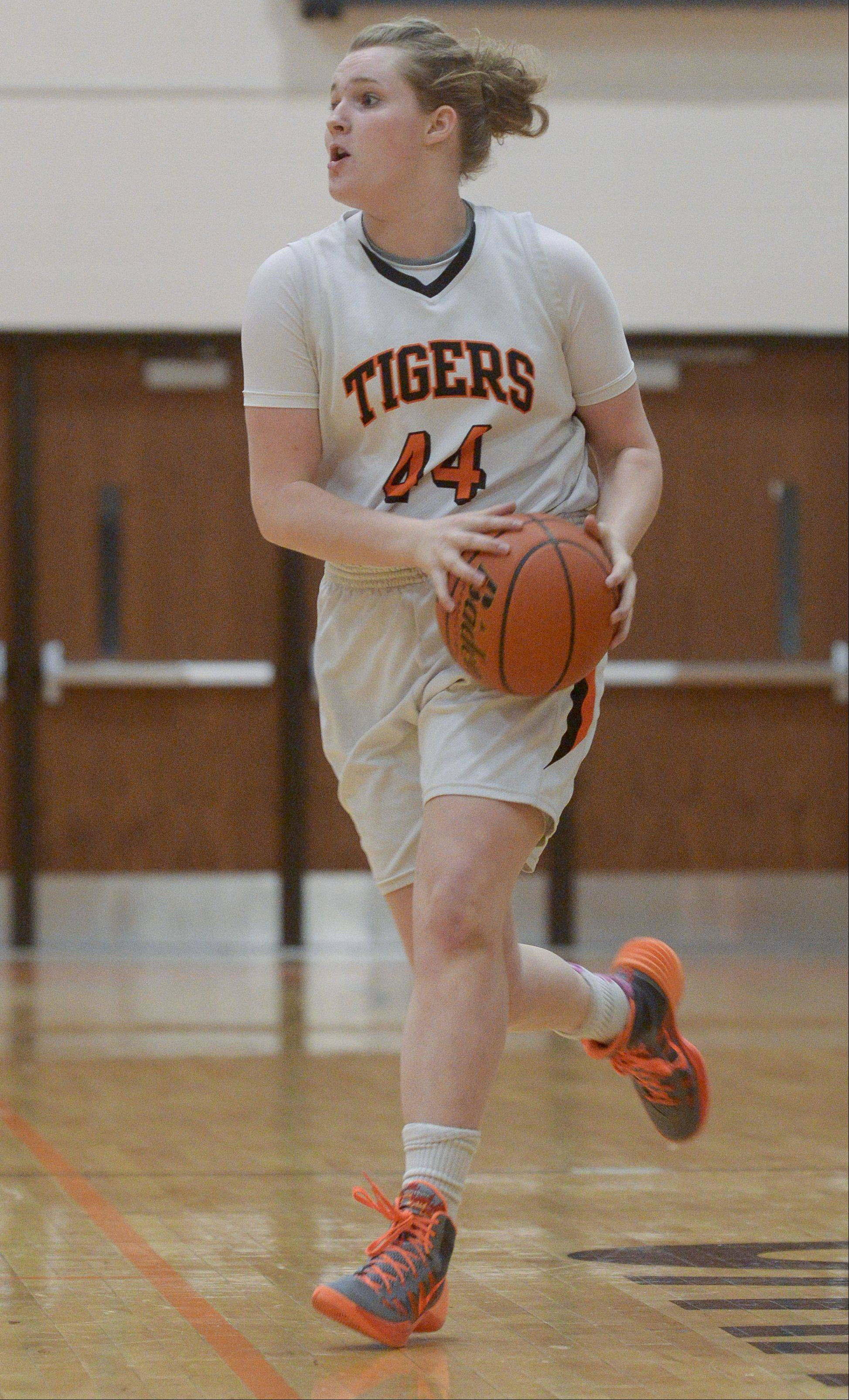 Photos from the Naperville North at Wheaton Warrenville South girls basketball game on Thursday, Jan. 30.