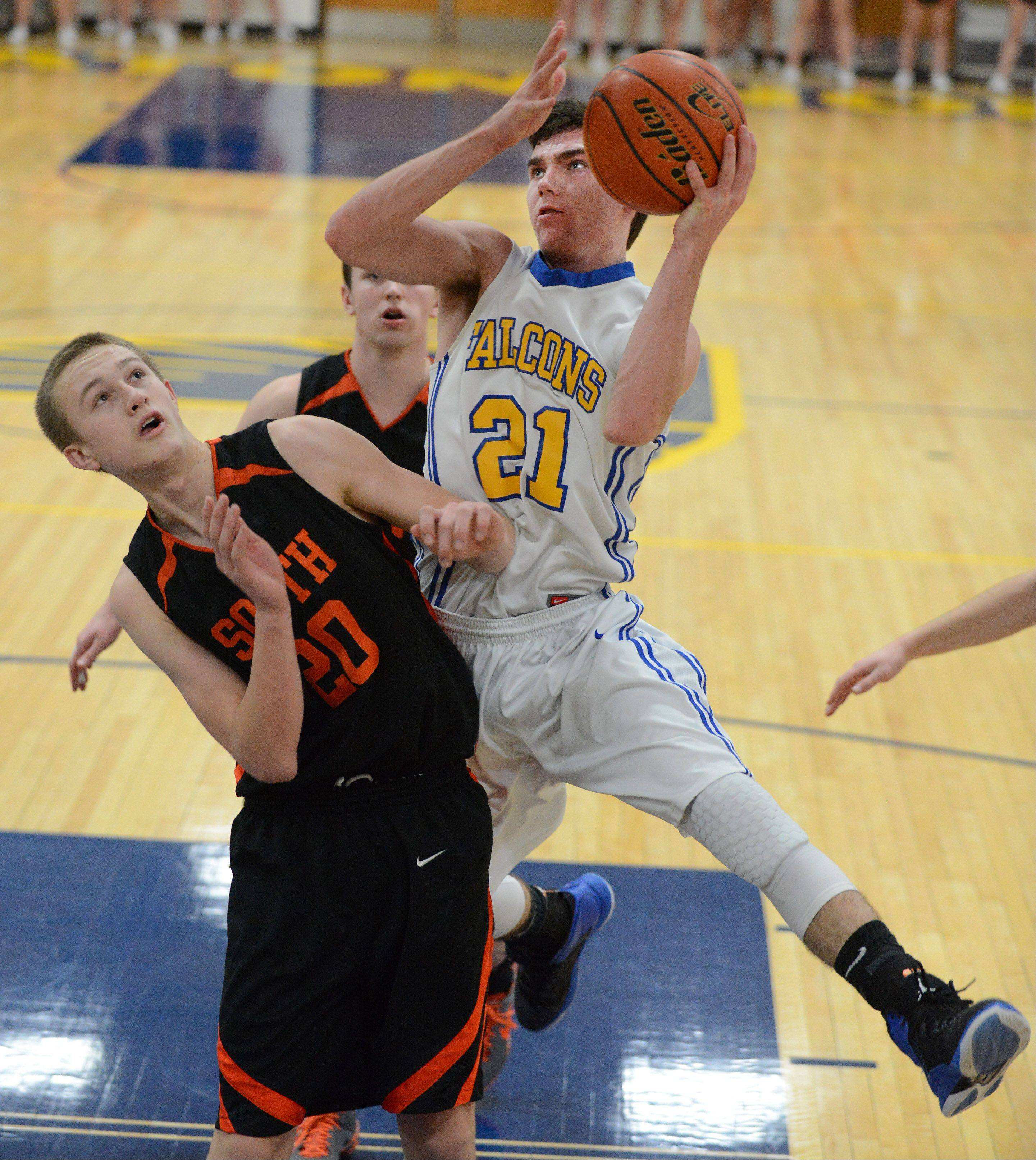 Injury-riddled Wheaton North staves off WW South