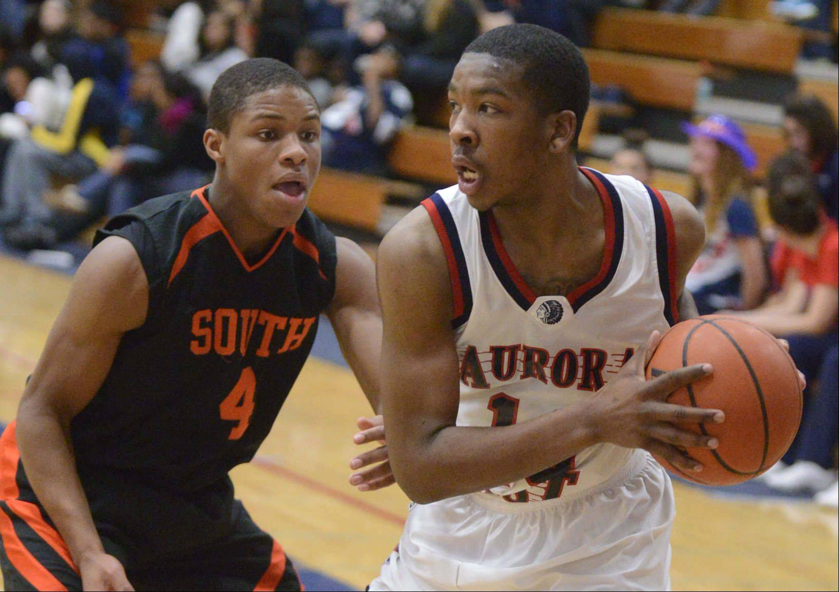 Images: Wheaton Warrenville South at West Aurora boys basketball