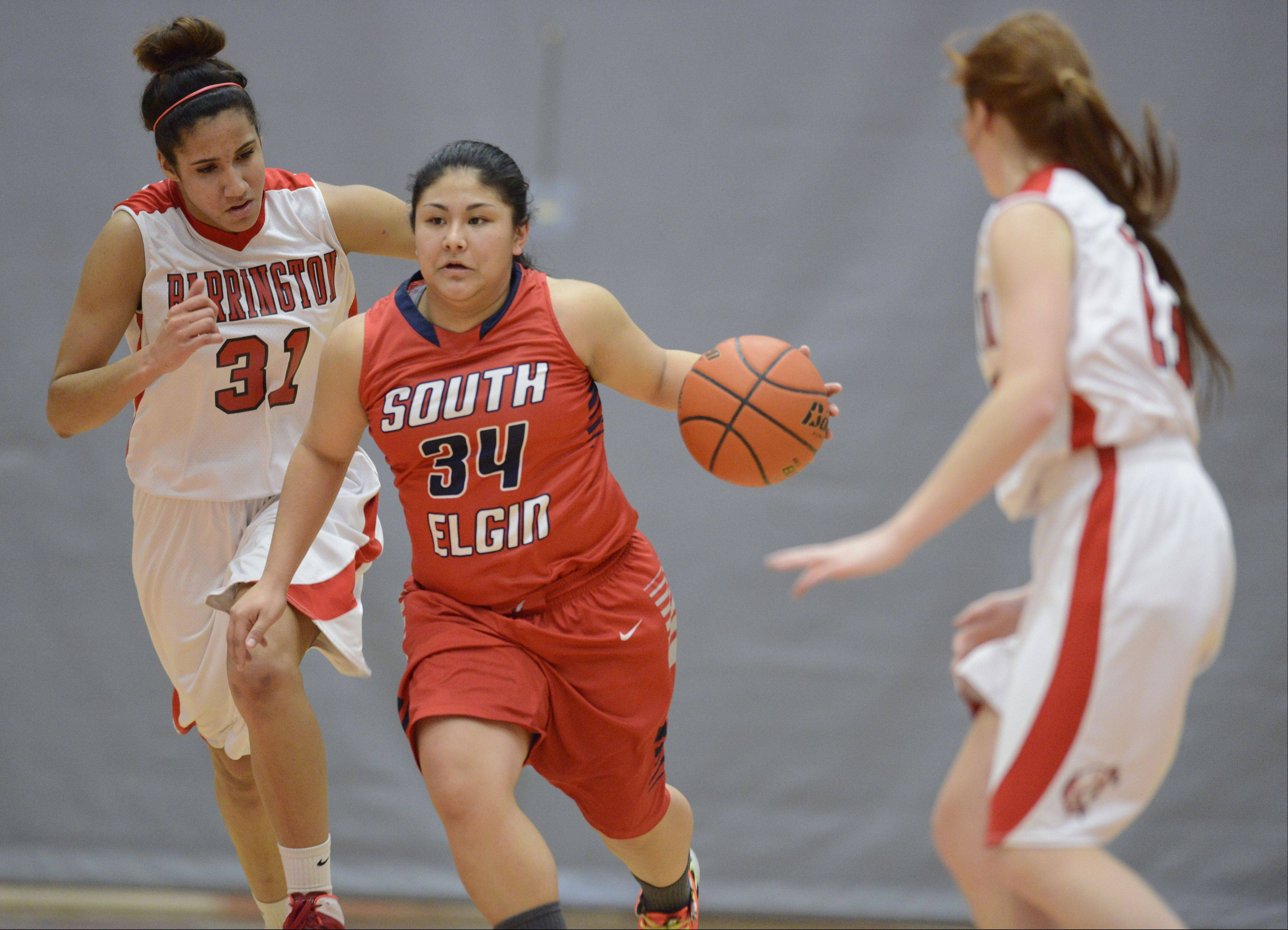 Images: Barrington vs. South Elgin girls basketball