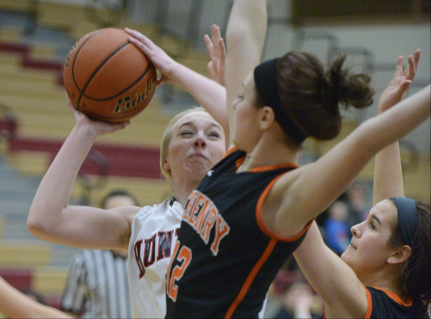 Images: Huntley vs. McHenry girls basketball