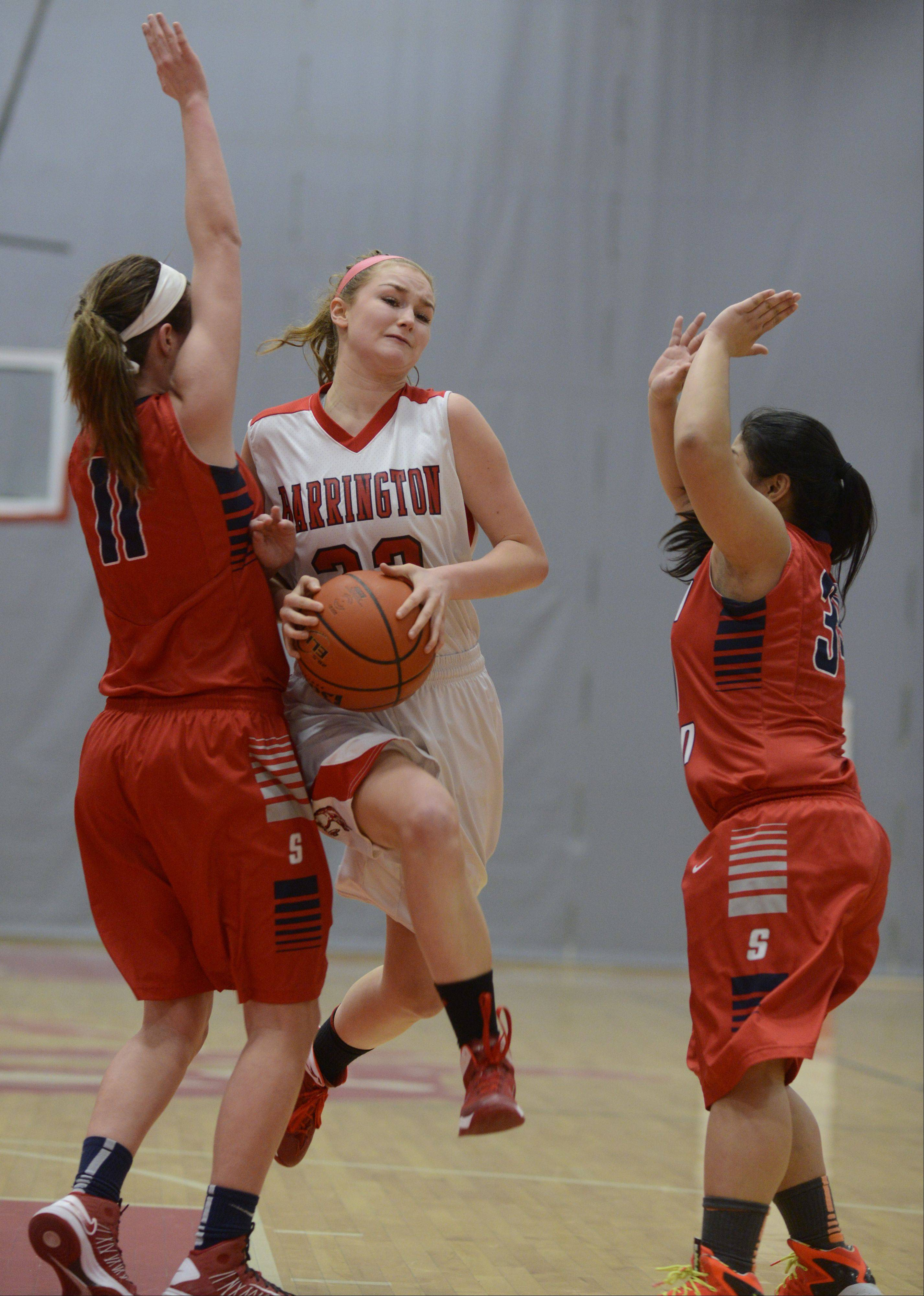 Images from the South Elgin vs. Barrington girls basketball game in Barrington Wednesday, Feb. 5, 2014.