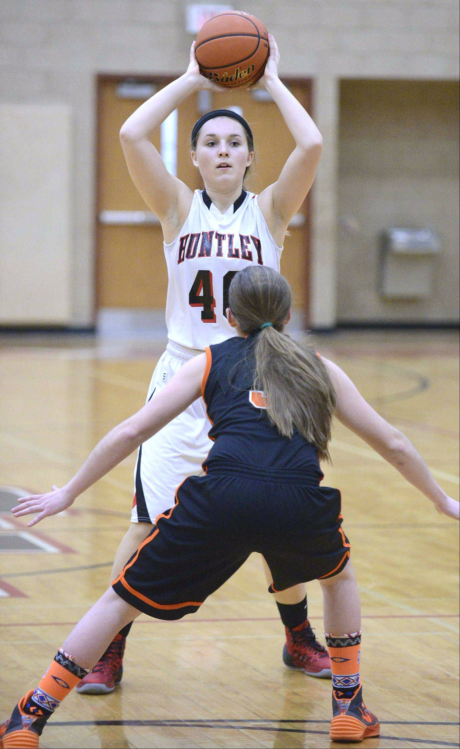 Images from the McHenry at Huntley girls basketball game Wednesday, February 5, 2014 in Huntley.
