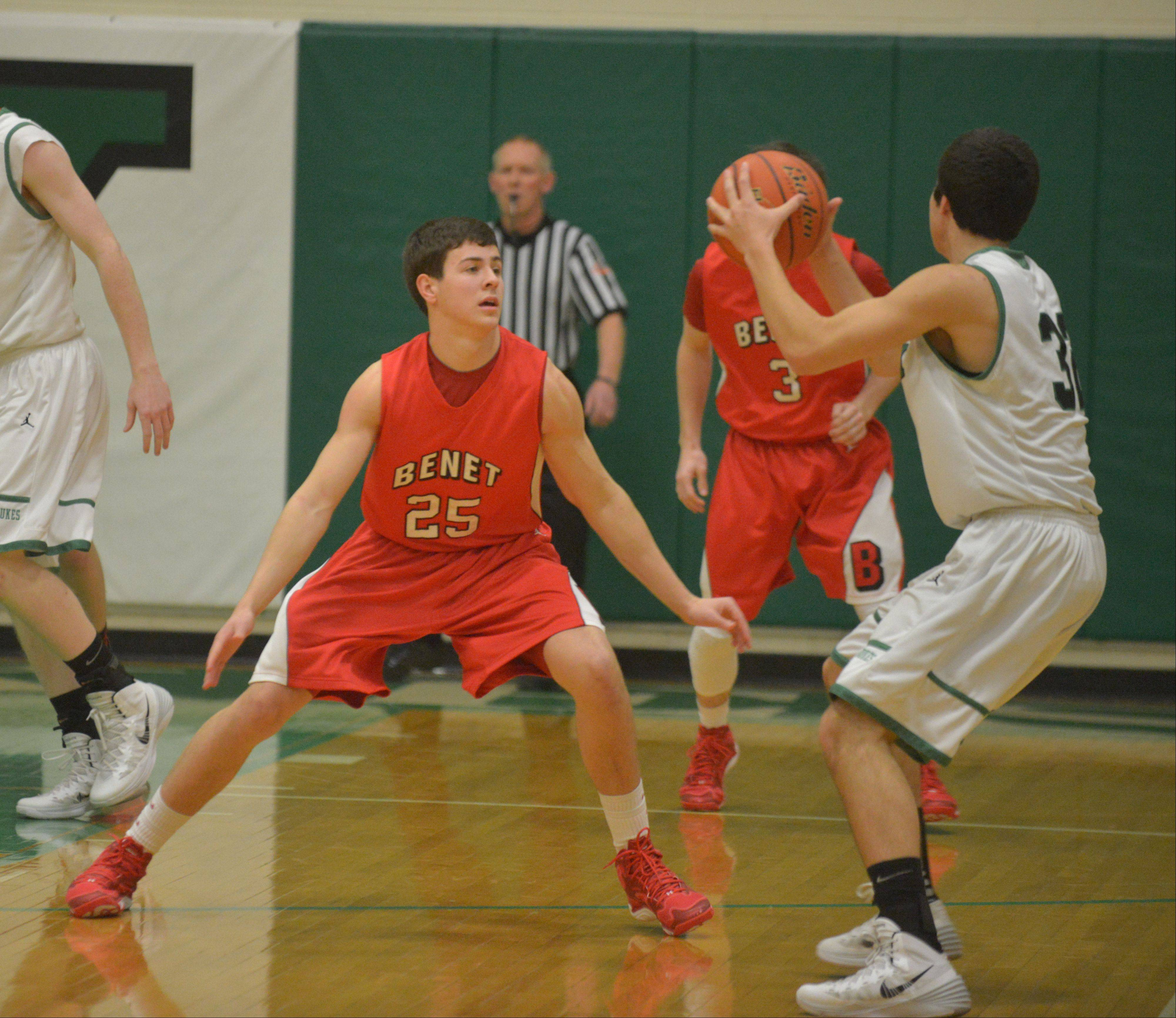 Benet will meet state power Stevenson on Saturday night at the Batavia Night of Hoops.