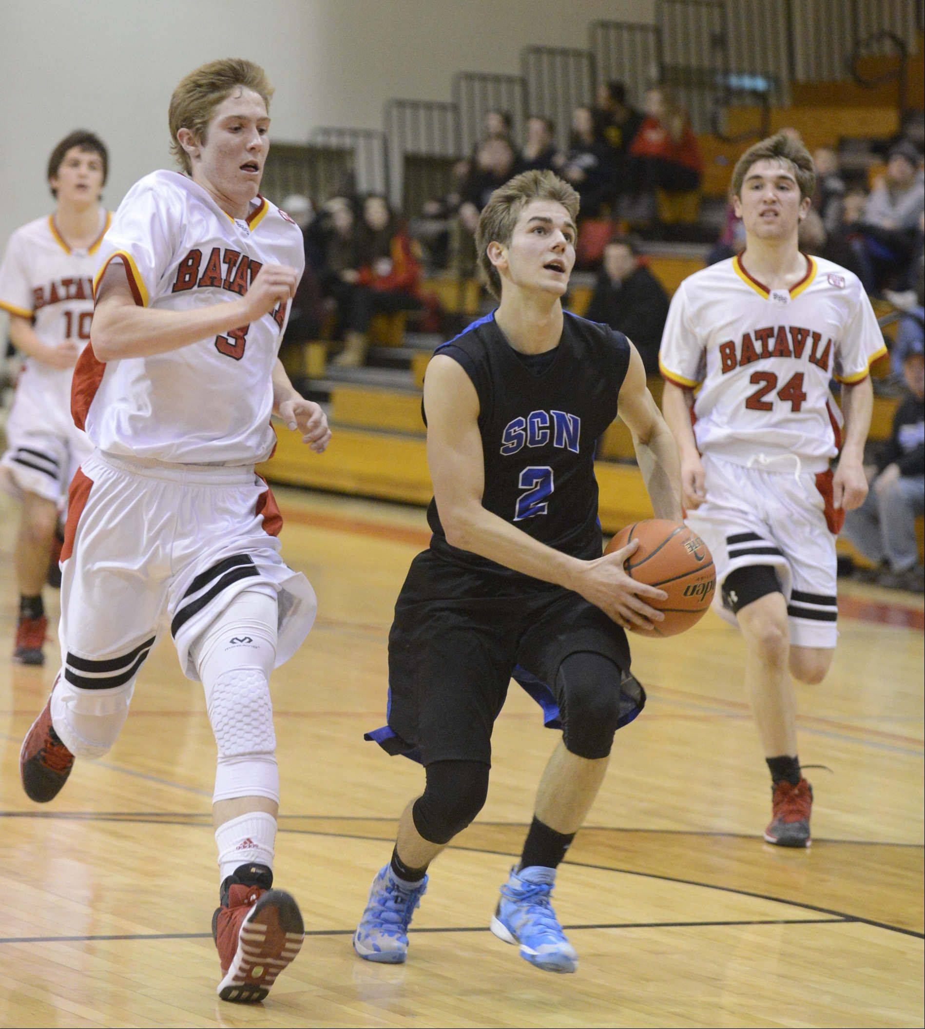 Images: St. Charles North at Batavia boys basketball