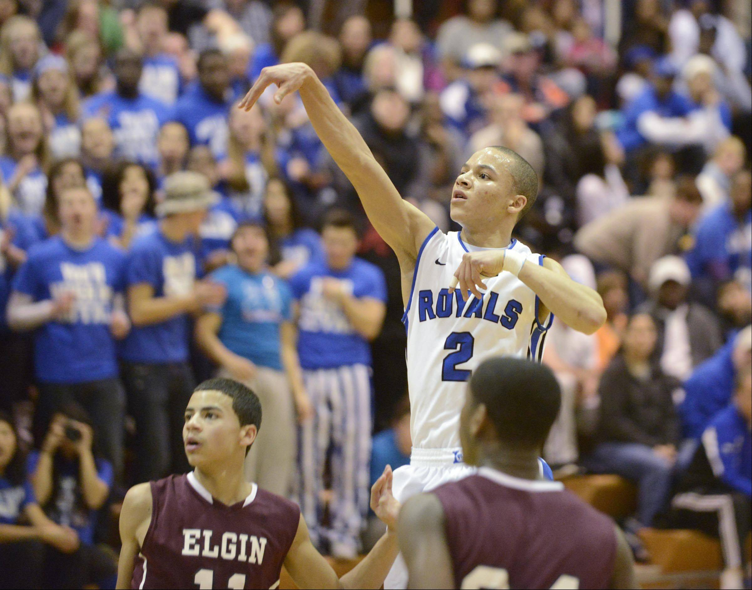Images from the Elgin at Larkin boys basketball game Friday, February 7, 2014 in Elgin.