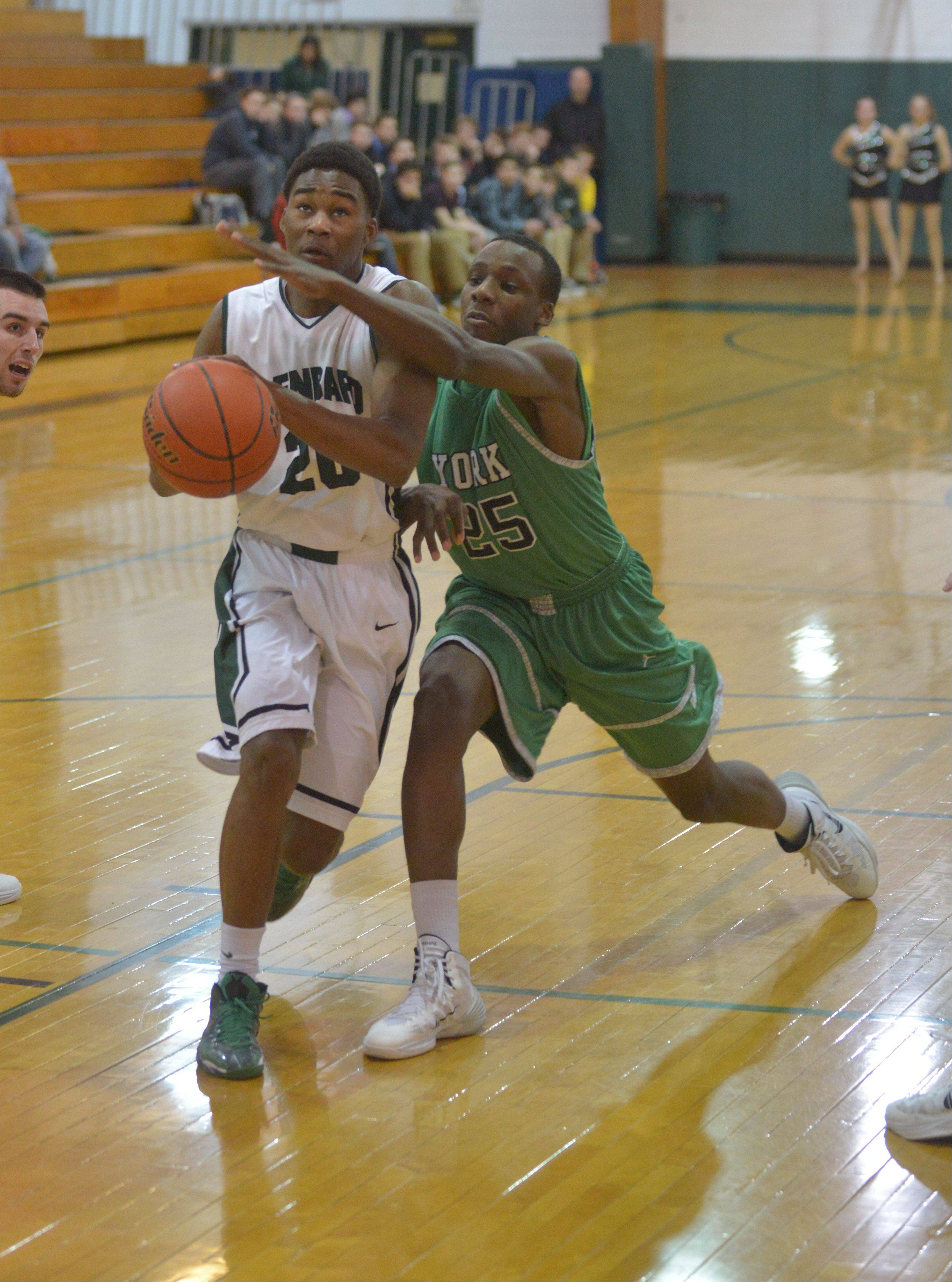 Photos from the York at Glenbard West boys basketball game Friday, Feb. 7 in Glen Ellyn.