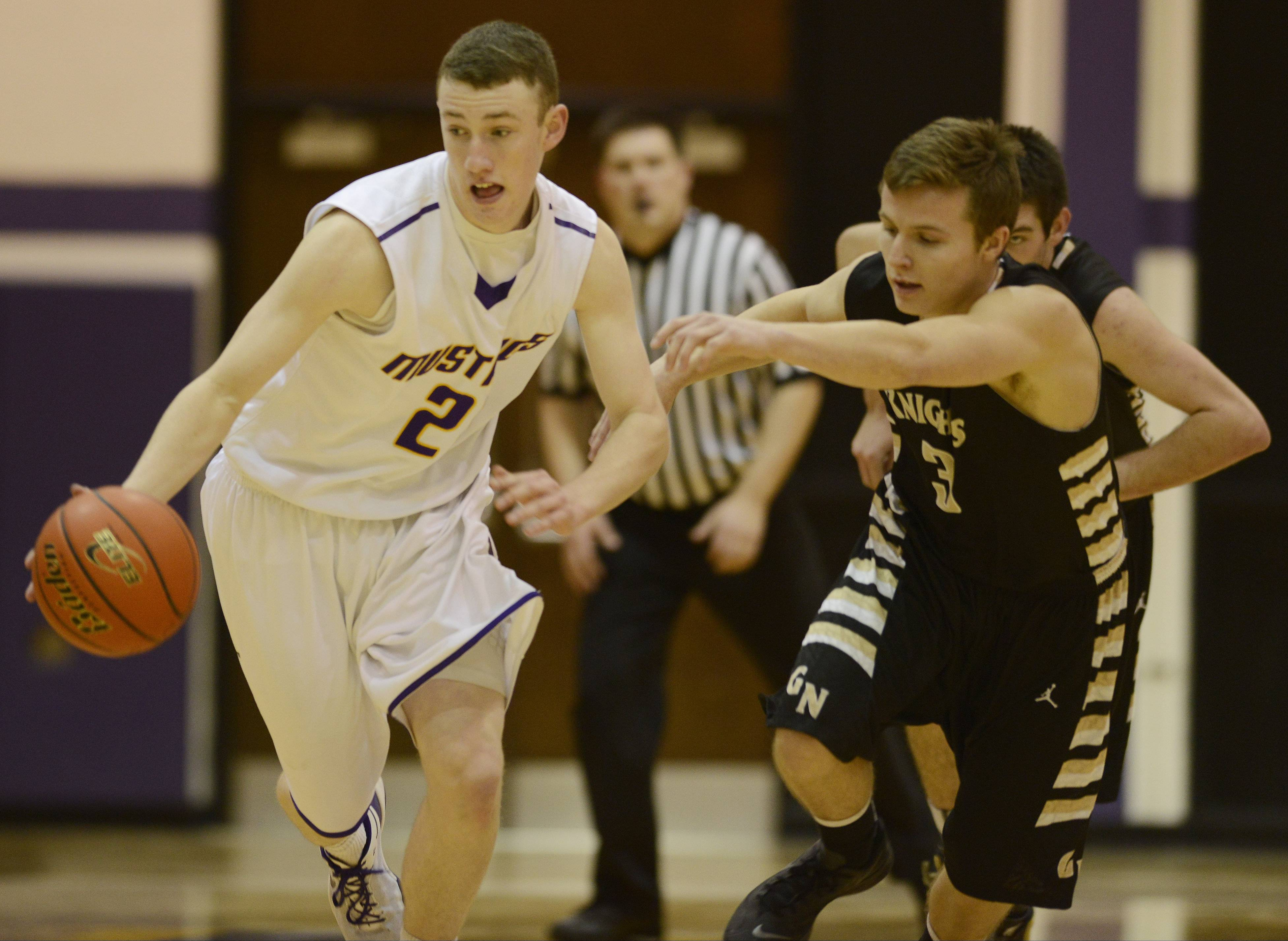 Images: Rolling Meadows vs. Grayslake North  boys basketball