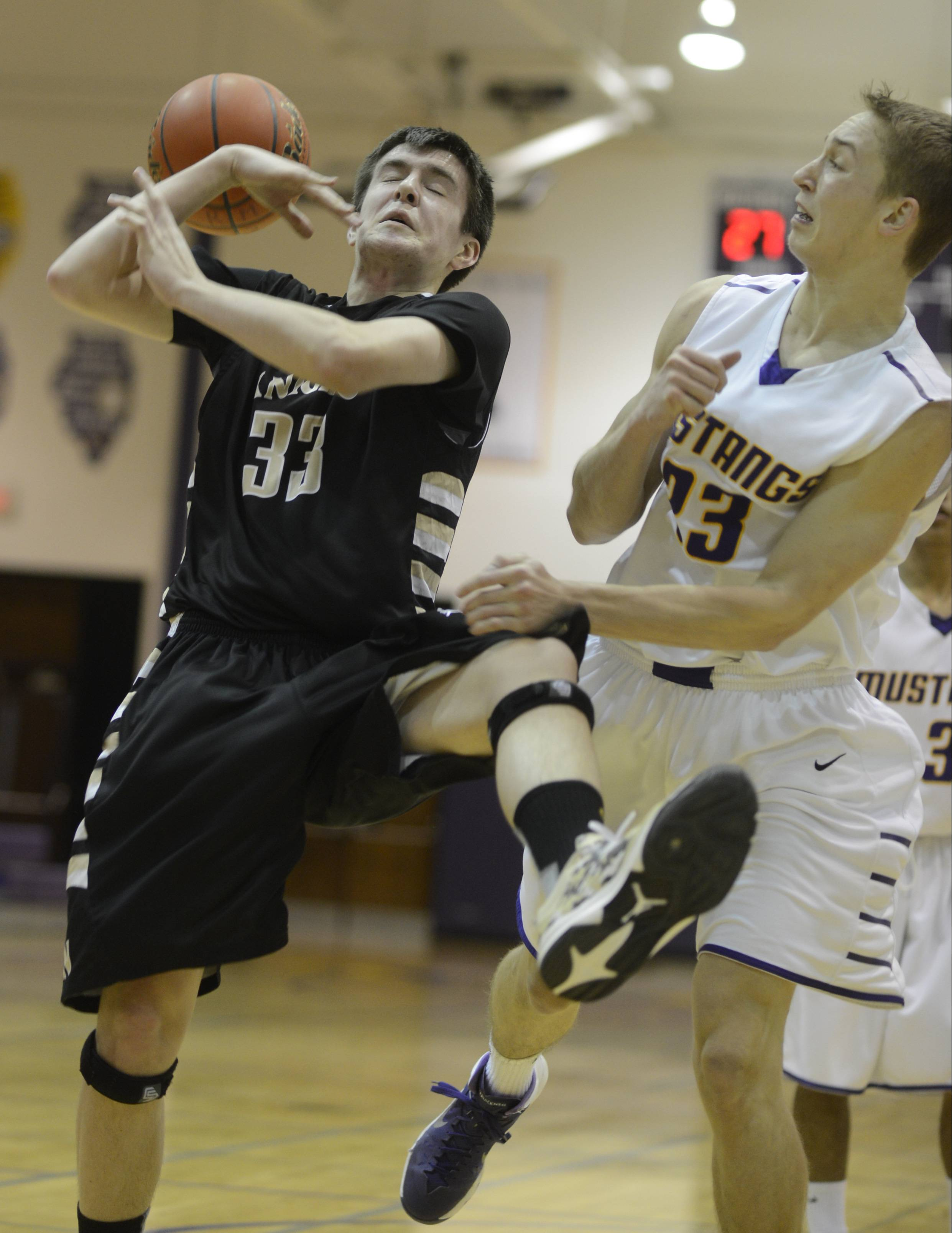 Photos from the Grayslake North vs. Rolling Meadows boys basketball game on Tuesday, February 11th, in Rolling Meadows.