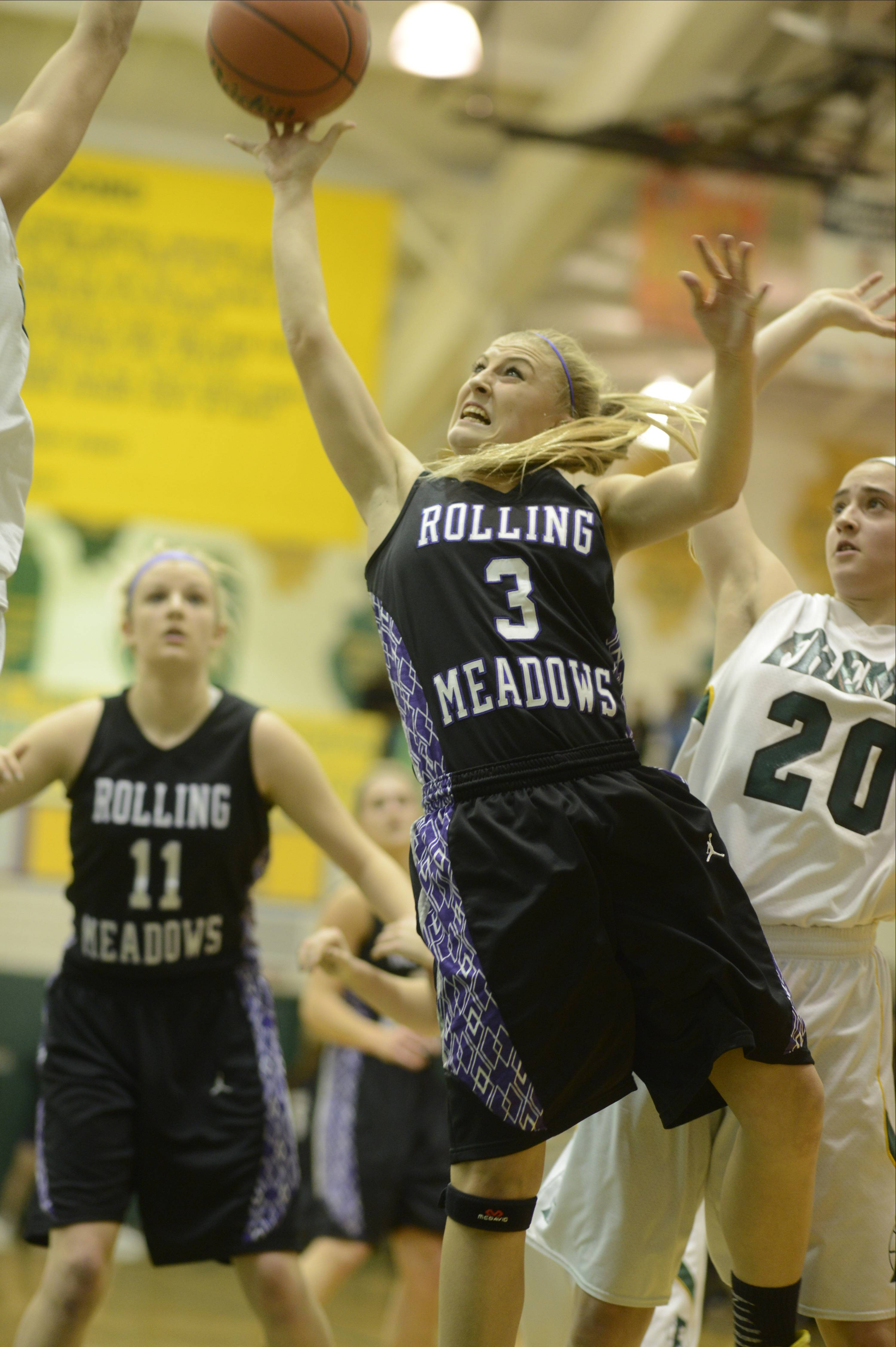 Photos from the Fremd vs. Rolling Meadows girls basketball game on Wednesday, February 12th, in Palatine.