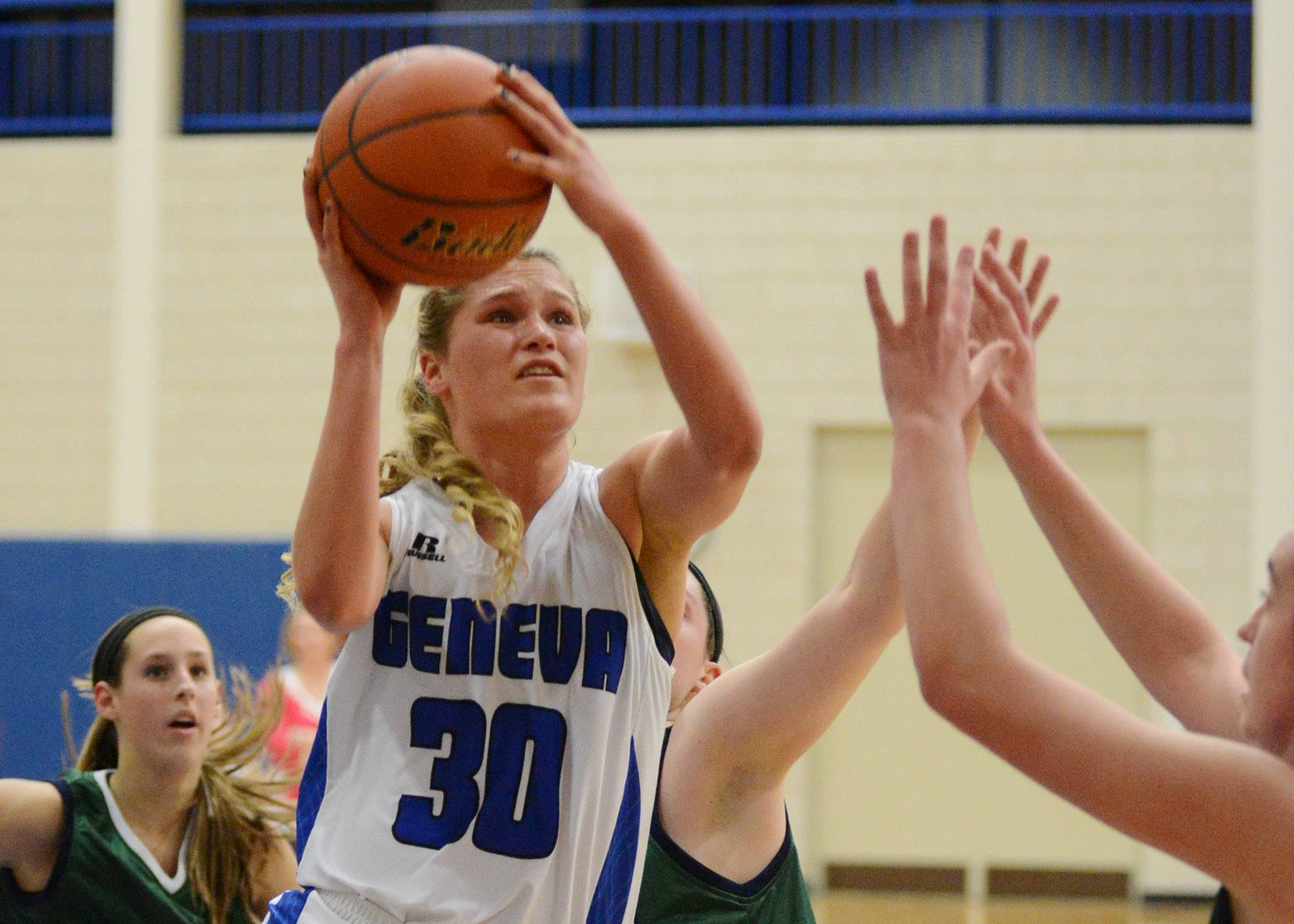 Images: Bartlett vs. Geneva girls basketball