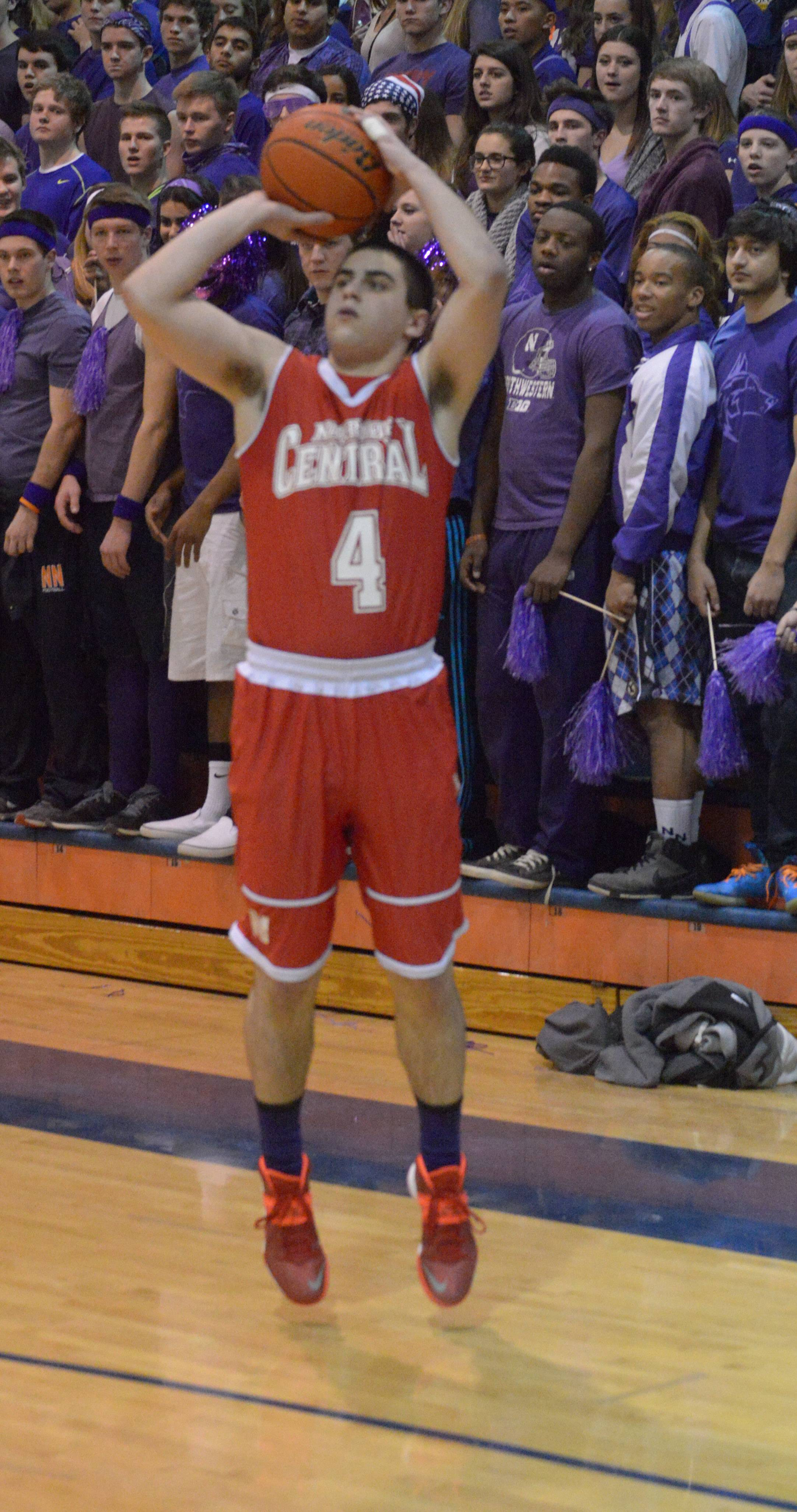 Naperville Central and guard Ryan Antony have won their last nine games.