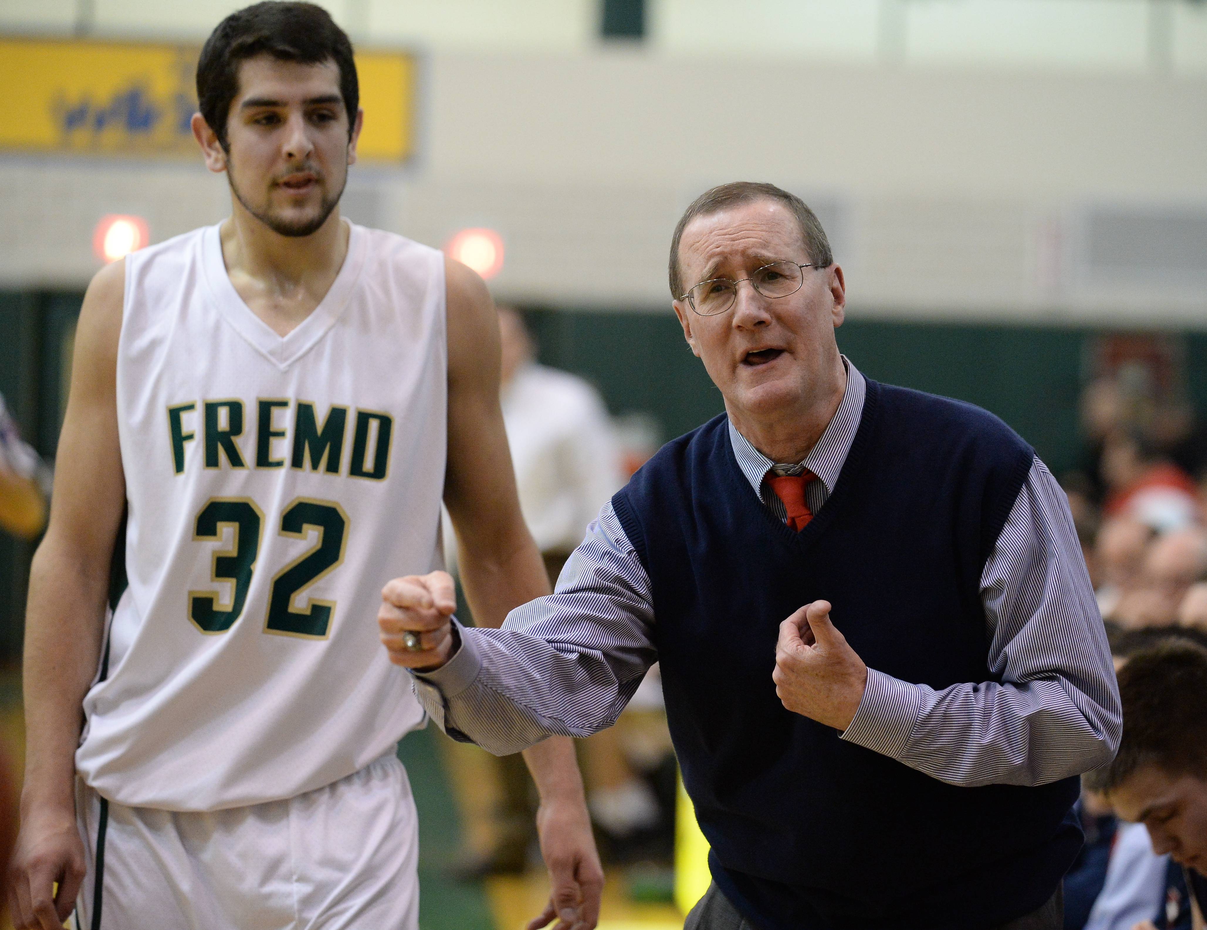 Images from Fremd vs. Conant in boys basketball, Friday, Feb. 14, 2014.