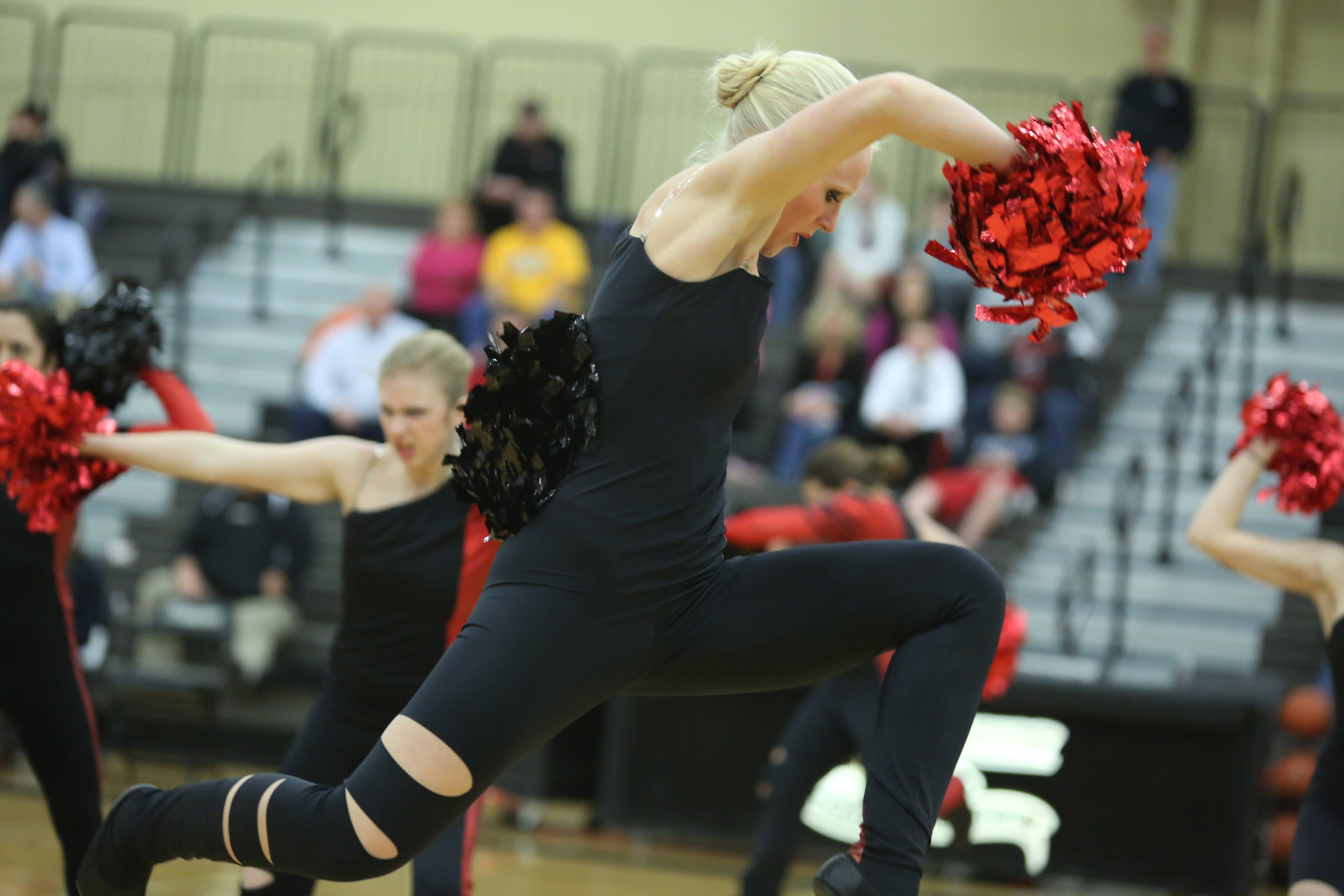 Images from the Huntley at Grayslake North girls basketball game on Friday, February 14.