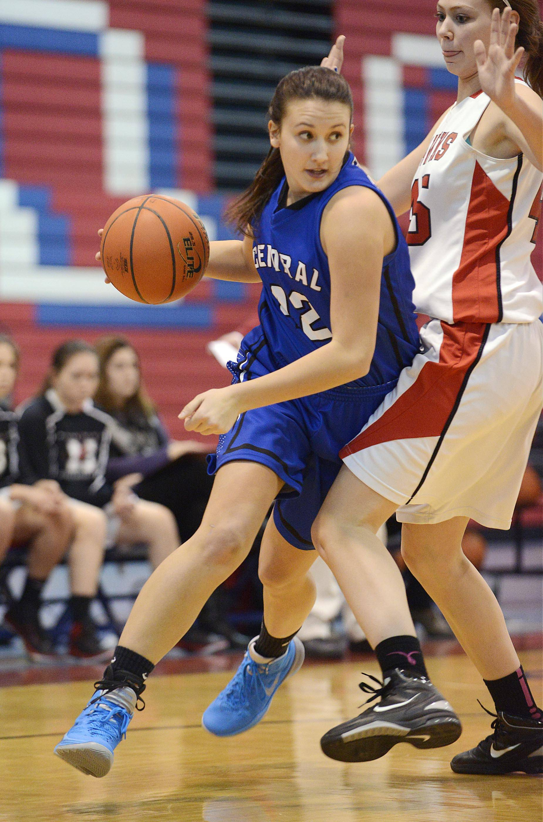 Burlington Central and junior forward Alison Colby will compete in the Class 3A Aurora Central Catholic regional beginning on Tuesday.