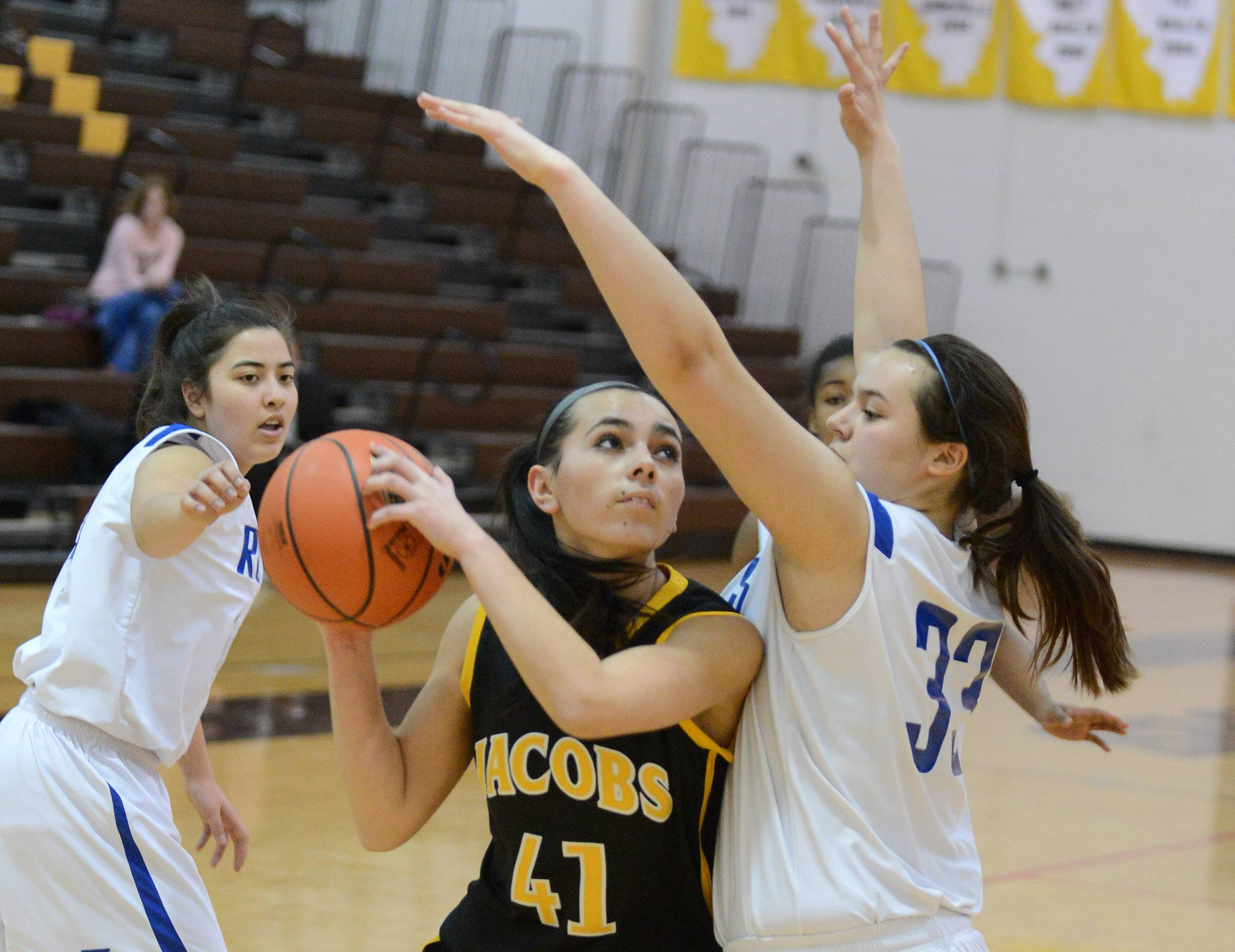 Images: Larkin vs. Jacobs girls basketball