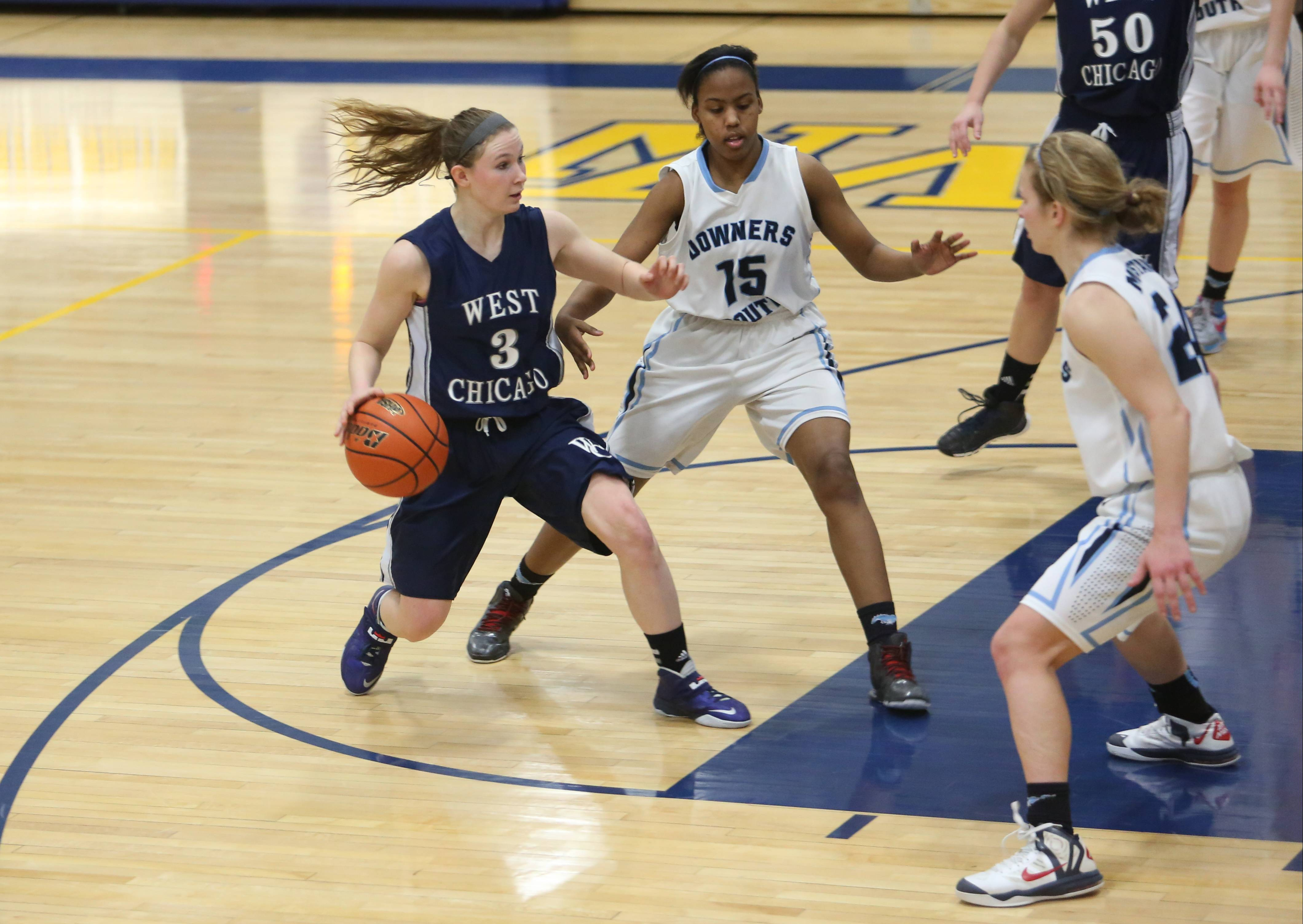 Images: West Chicago vs. Downers Grove South girls basketball