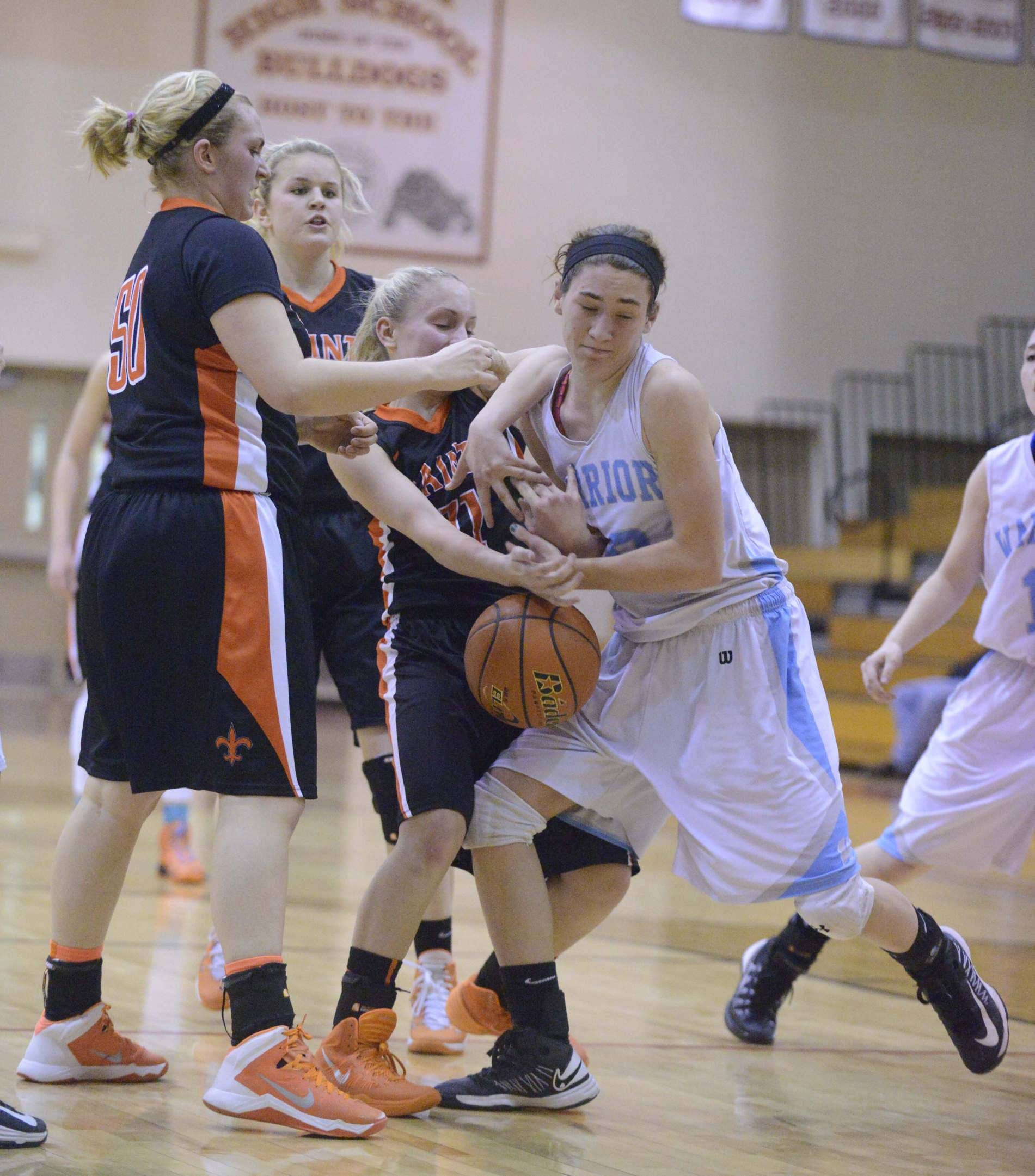 Images from the St. Charles East vs. Willowbrook girls basketball game Tuesday, February 18, 2014.