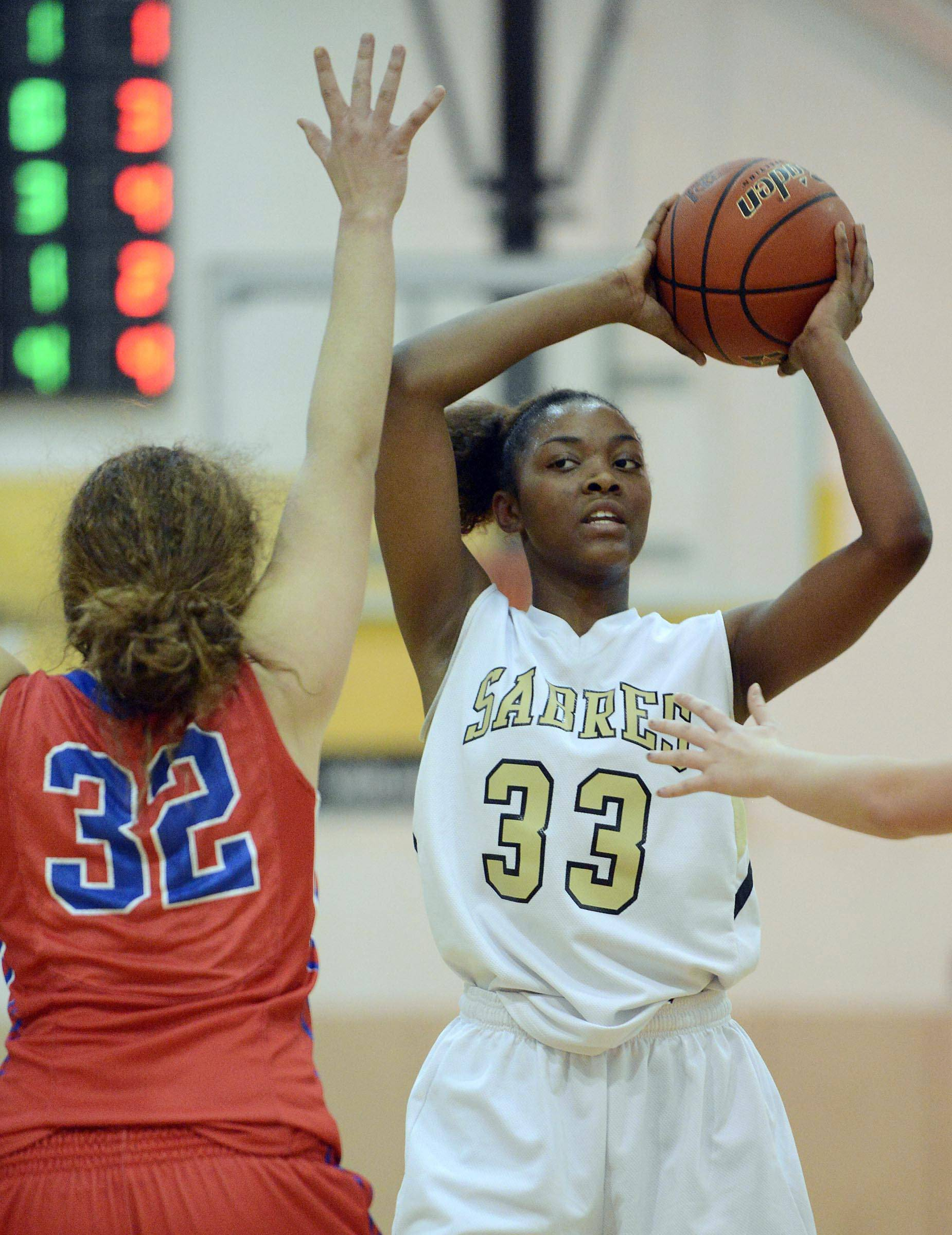 Images from the Streamwood vs. Dundee-Crown girls basketball game Tuesday, February 19, 2014.