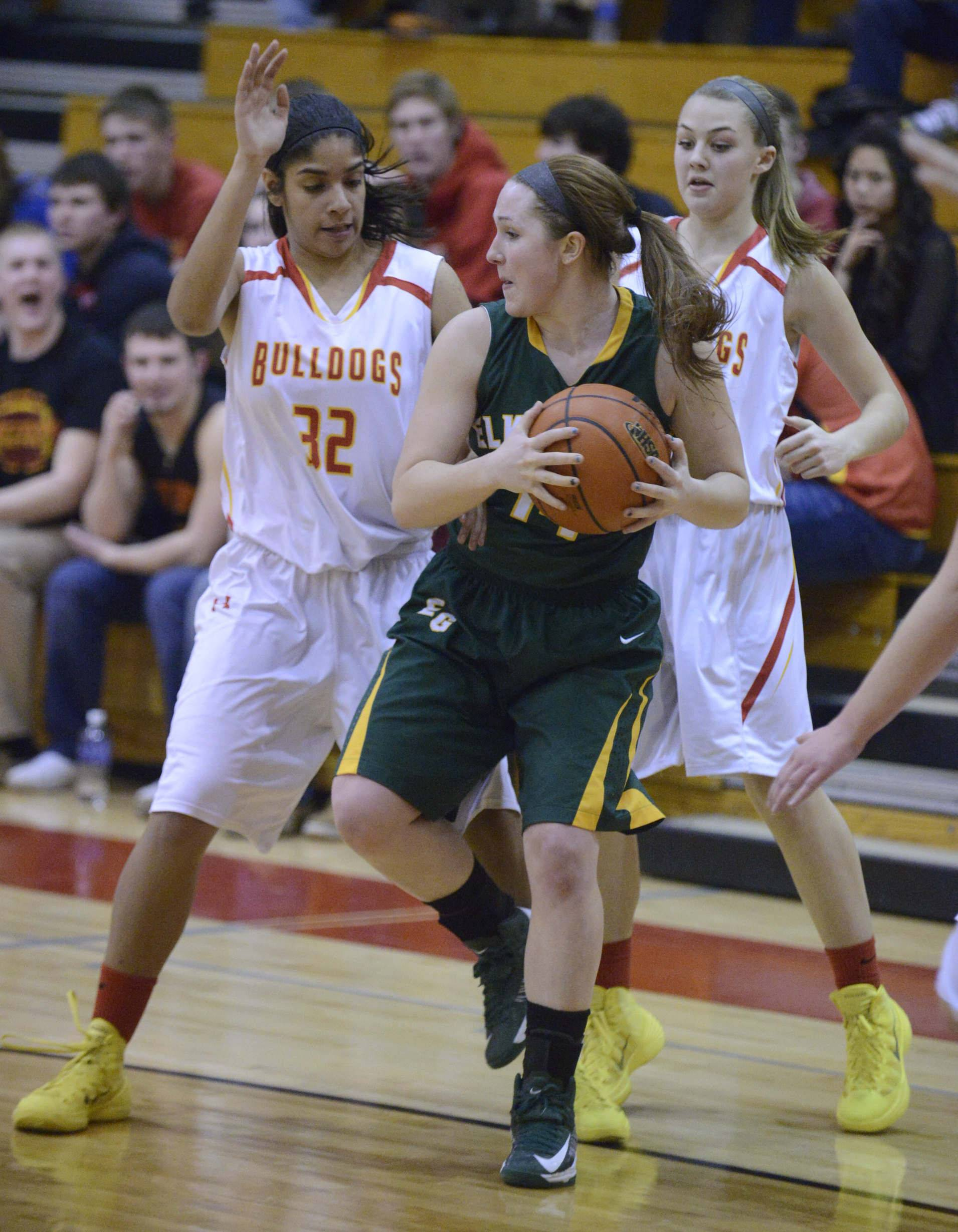 Images from the Elk Grove vs. Batavia girls basketball game Tuesday, February 18, 2014.