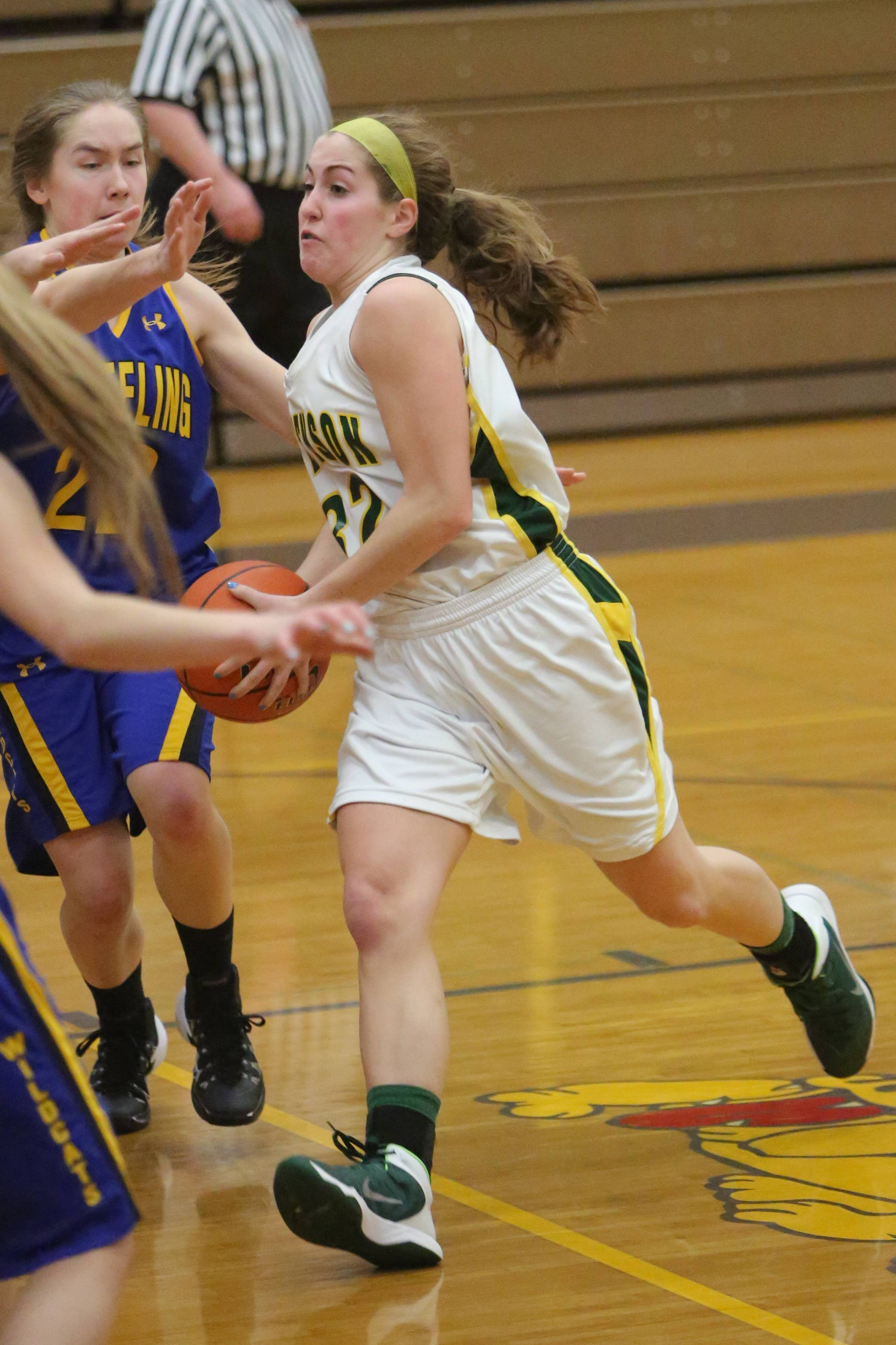 Images from the Stevenson vs. Wheeling girls basketball game on Wednesday, February 19 in Waukegan.