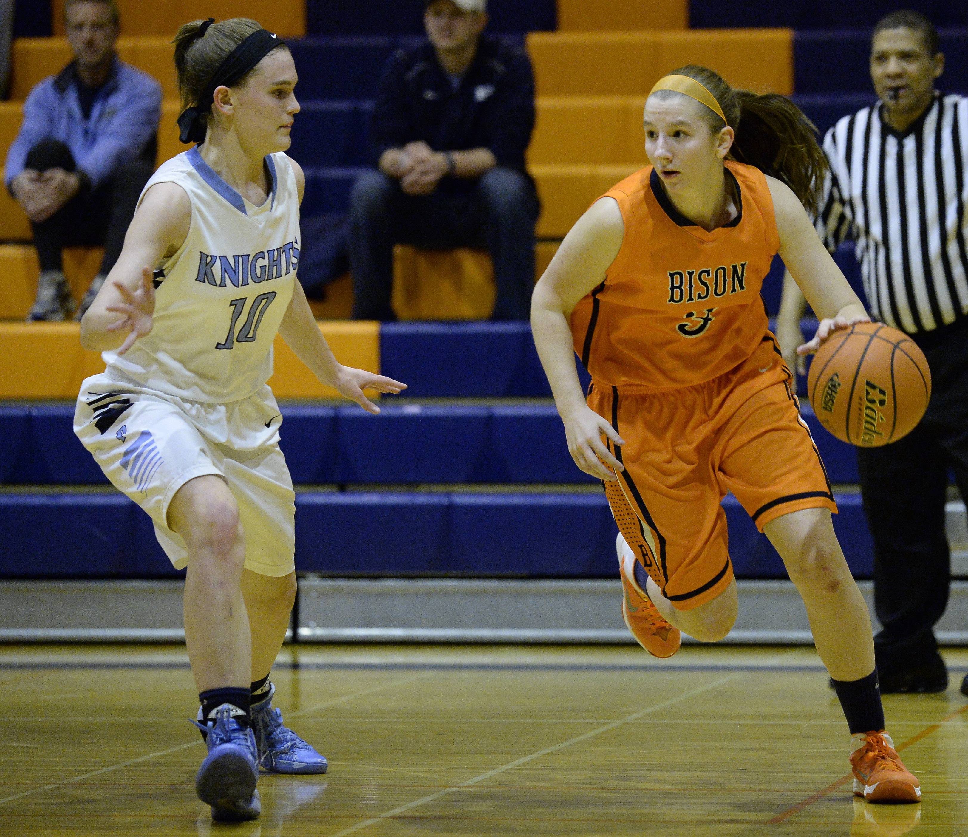 Images from Buffalo Grove vs. Prospect in the Buffalo Grove Class 4A girls regional championship game on Thursday, Feb. 20.