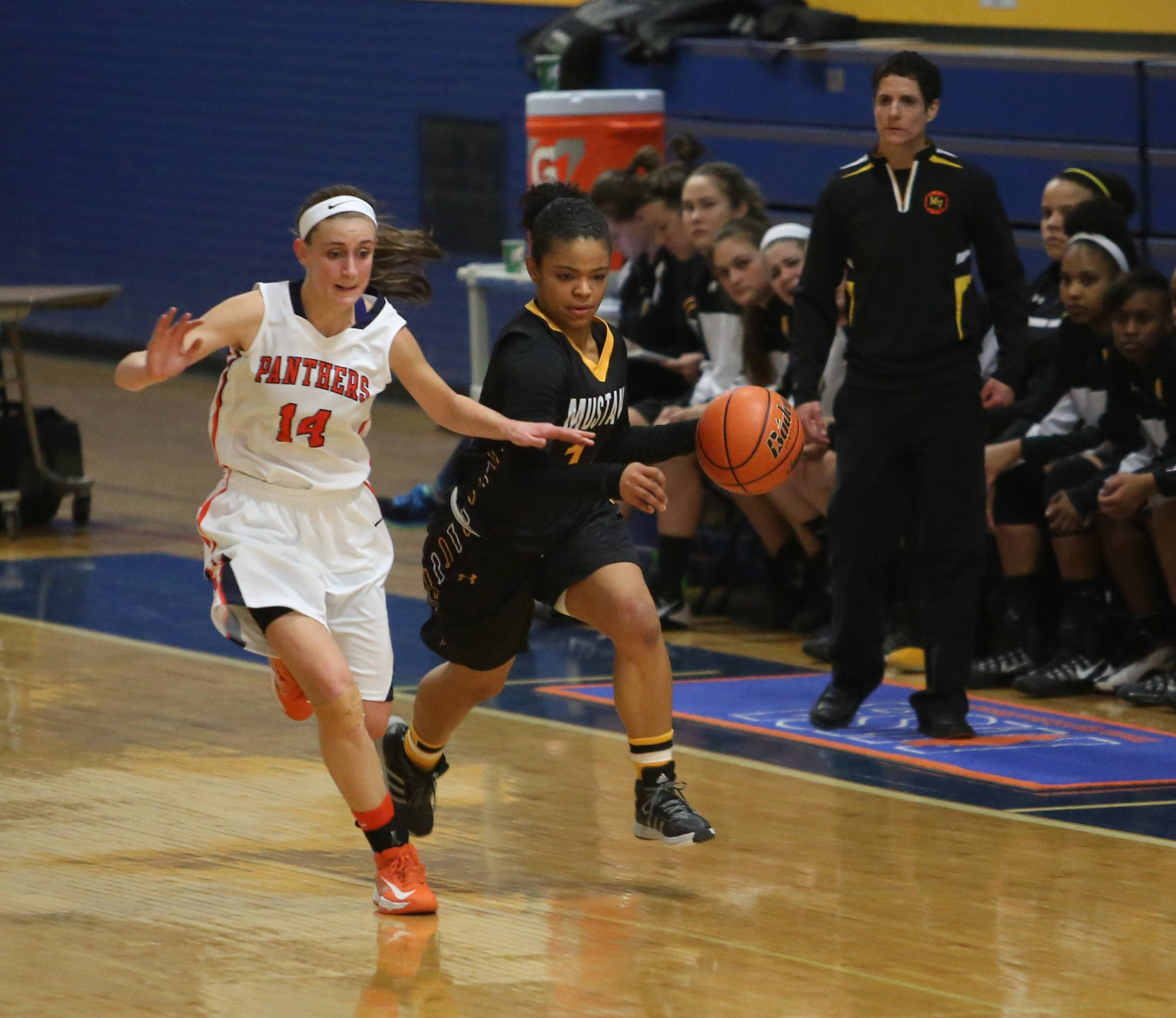 Images: Metea Valley vs. Oswego girls basketball