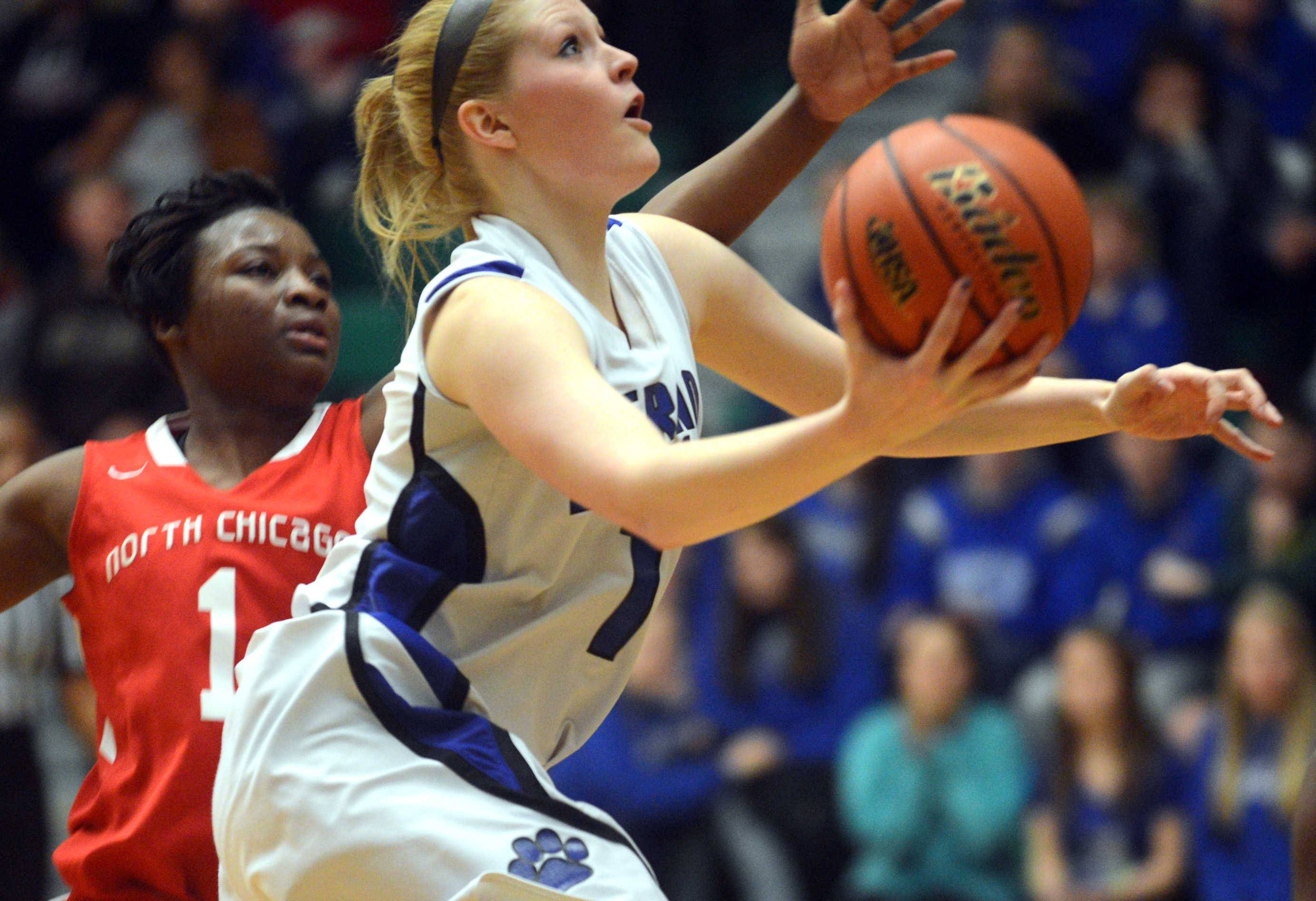 Images: Vernon Hills vs. North Chicago girls basketball