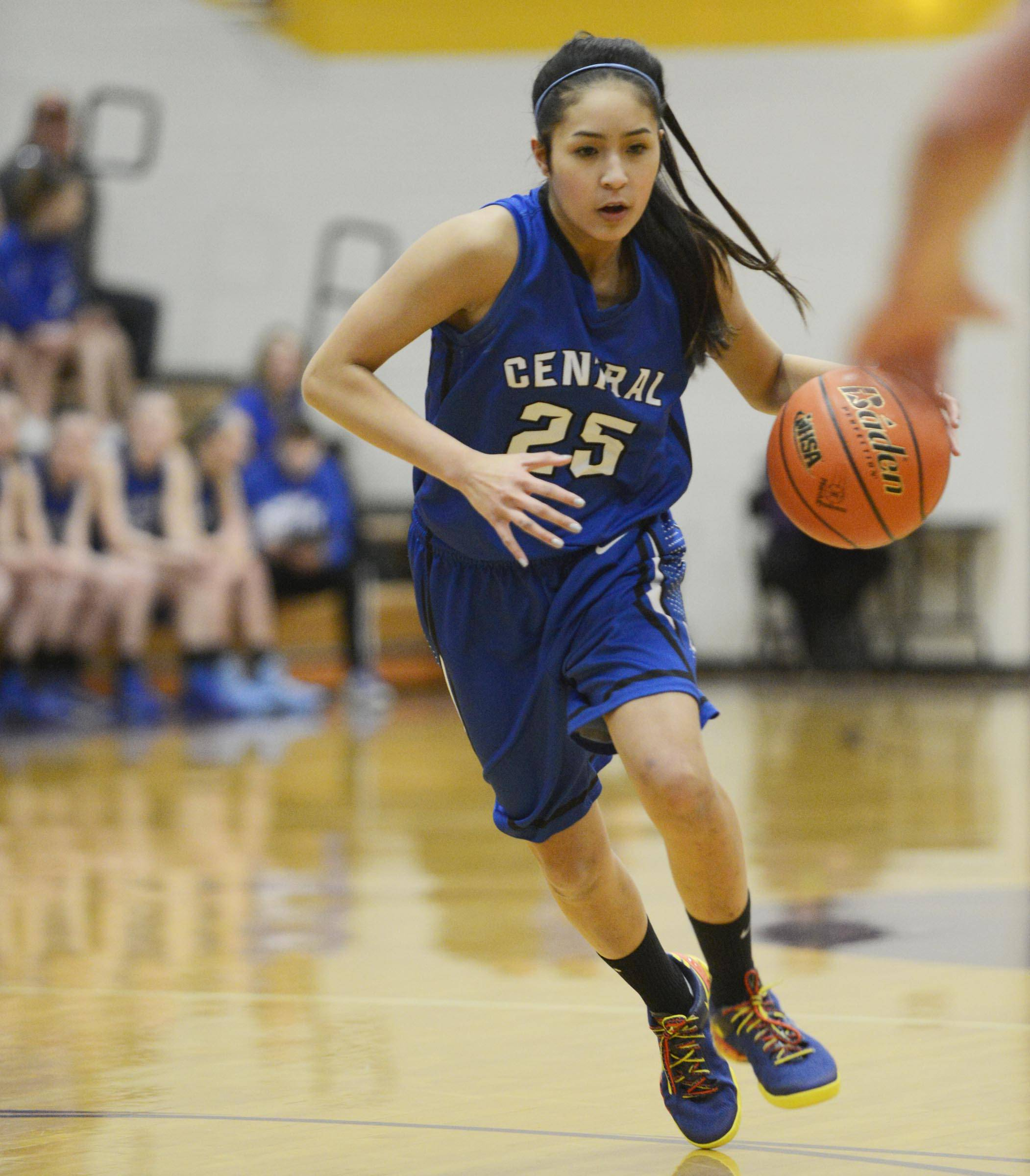 Images from the Burlington Central vs. Sycamore Class 3A sectional semifinal girls basketball game Monday night in Belvidere.