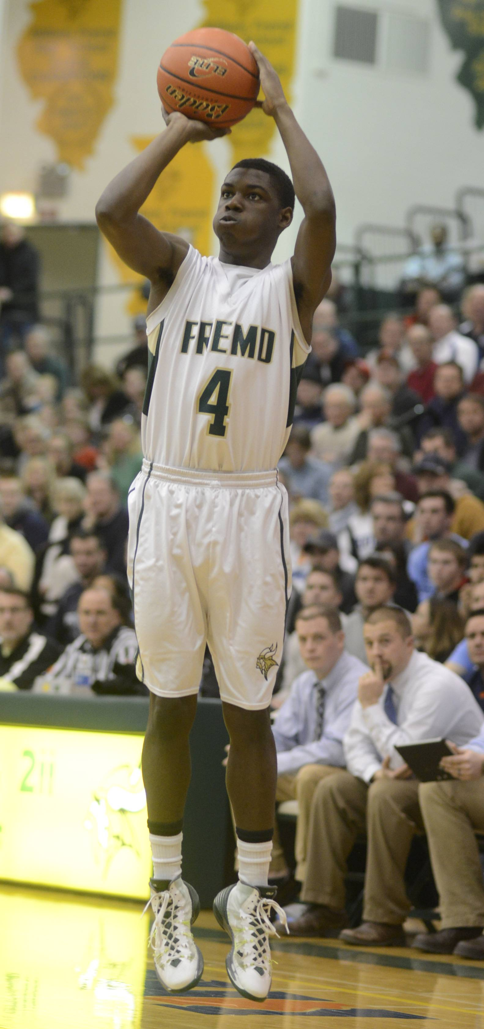 Photos from the Fremd vs. Prospect boys MSL championship basketball game on Wednesday, February 26th, in Palatine.